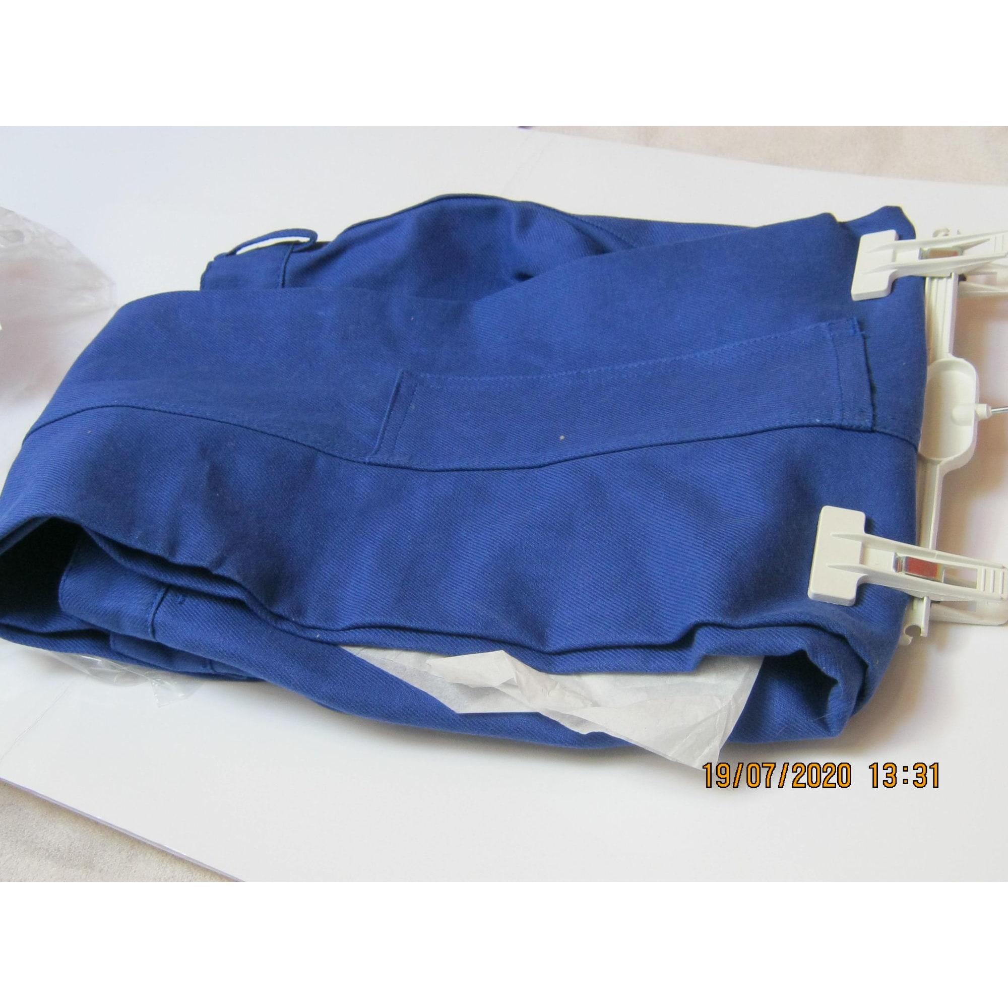 Pantalon droit PORTEX Bleu, bleu marine, bleu turquoise