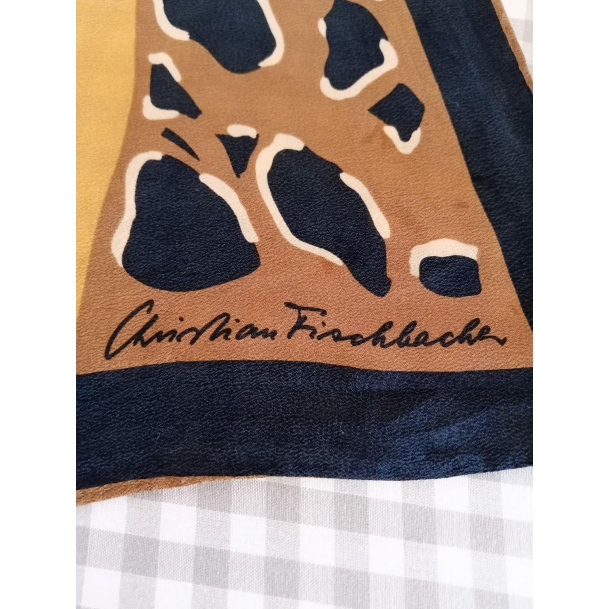 Foulard CHRISTIAN FISCHBACHER Imprimés animaliers