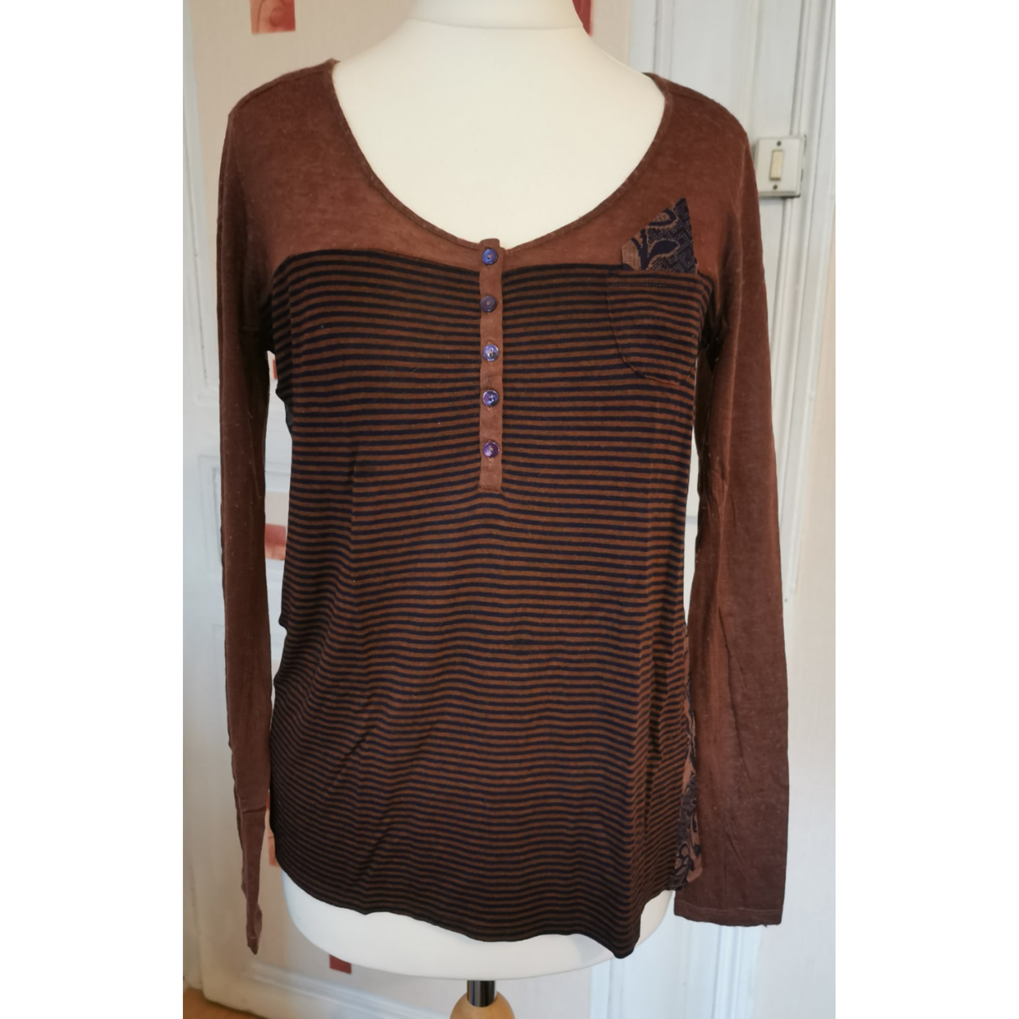 Blouse ONE STEP Marron