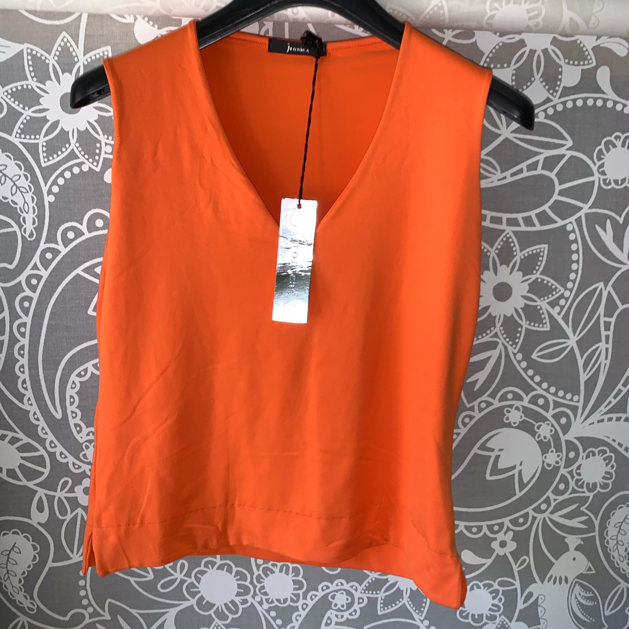 Top, tee-shirt TONIKA Orange