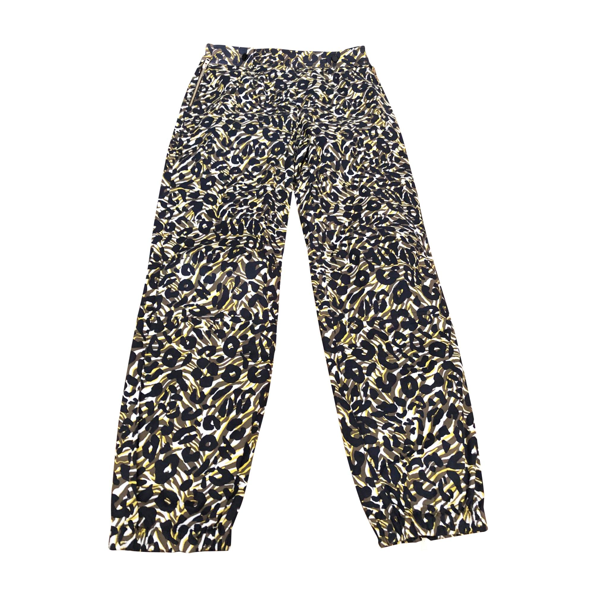 Pantalon droit MISSONI Imprimés animaliers