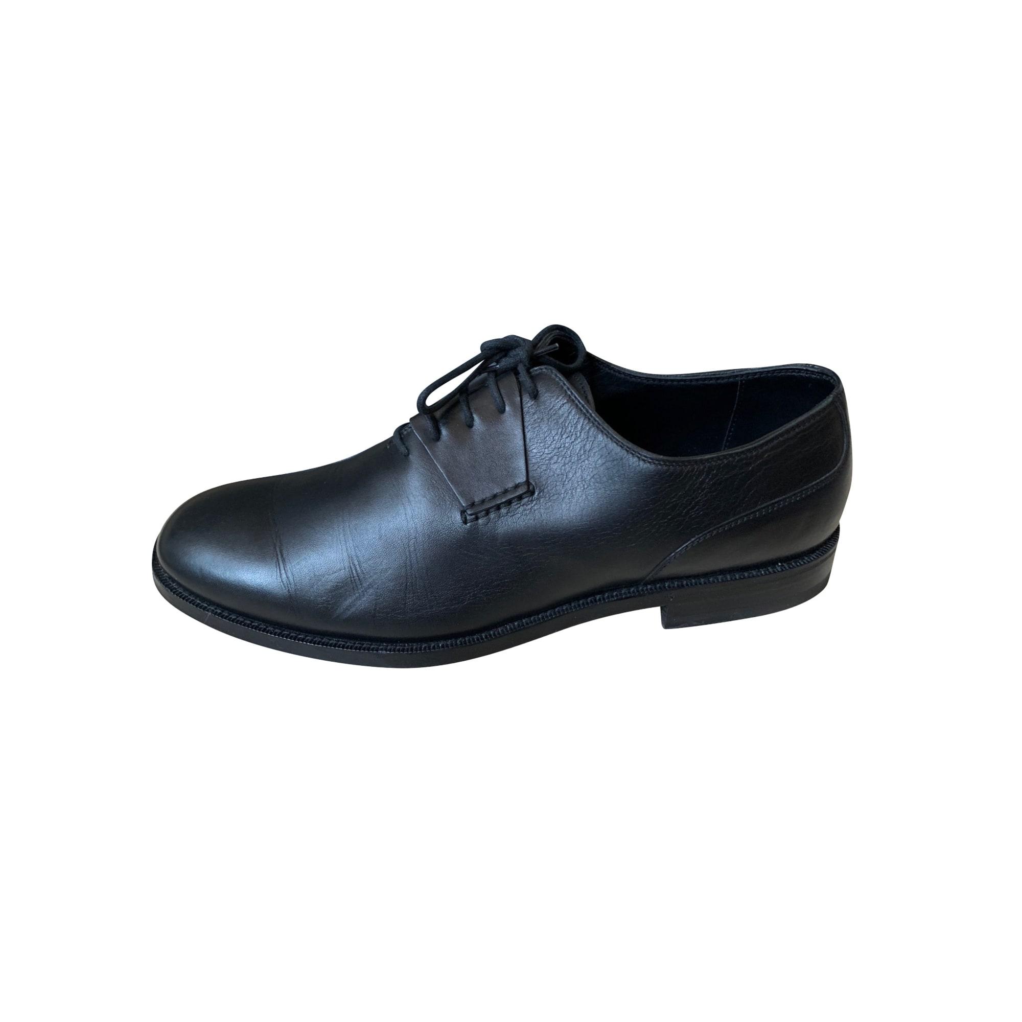 Chaussures à lacets BOTTEGA VENETA Noir