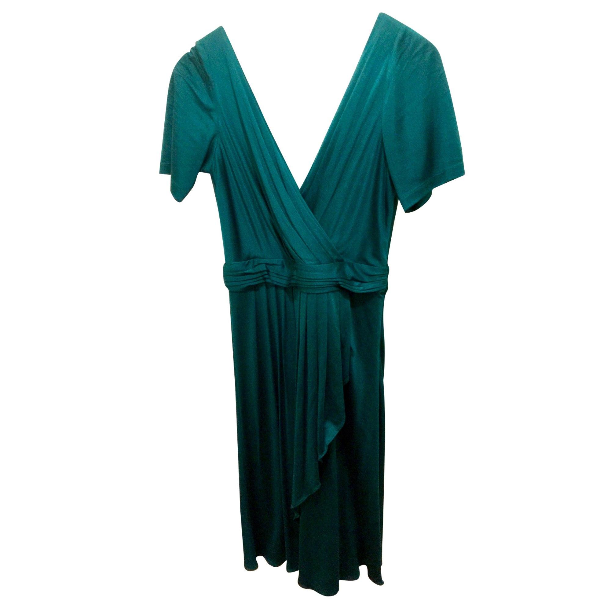 Robe mi-longue TEMPERLEY LONDON Vert