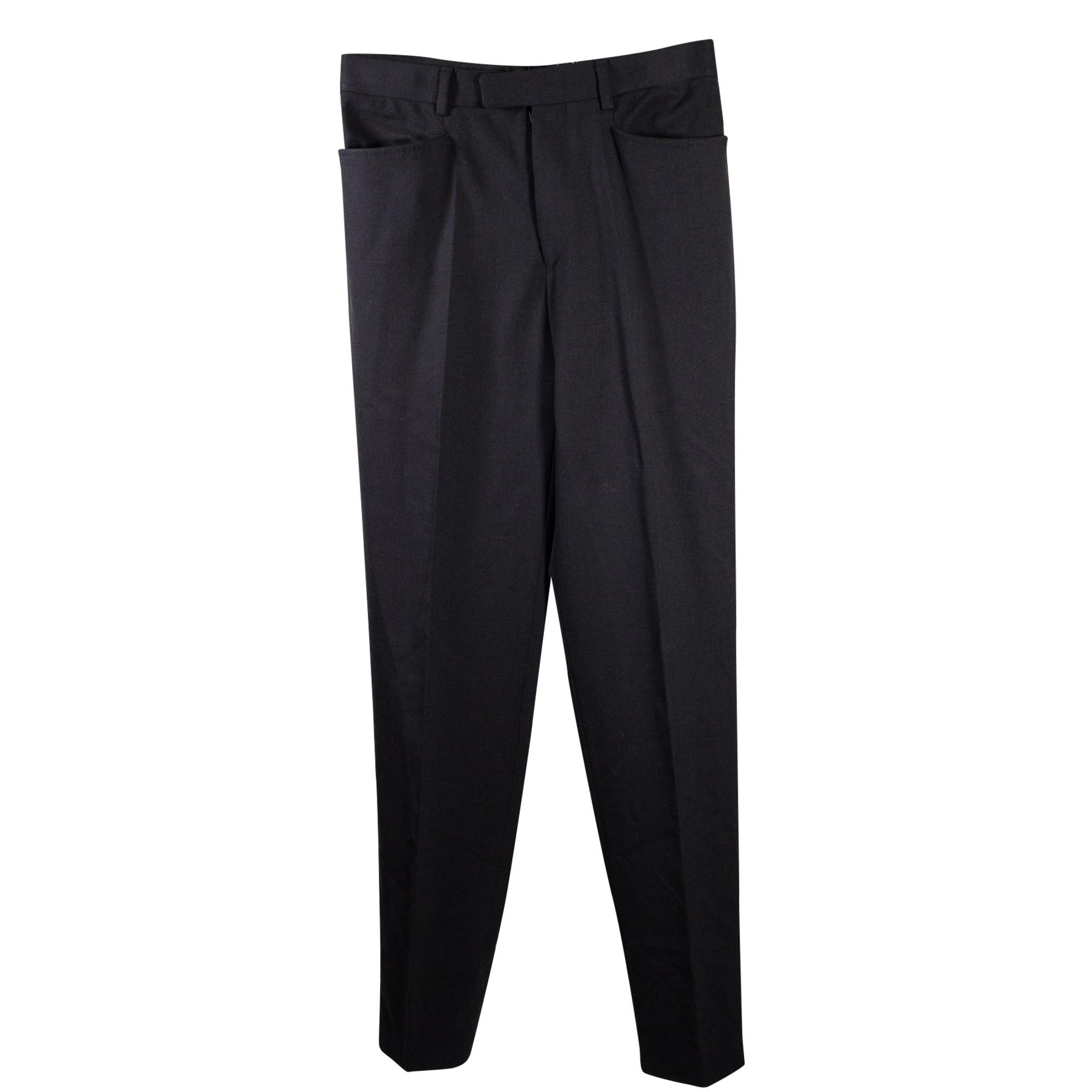 Pantalon droit GUCCI Noir