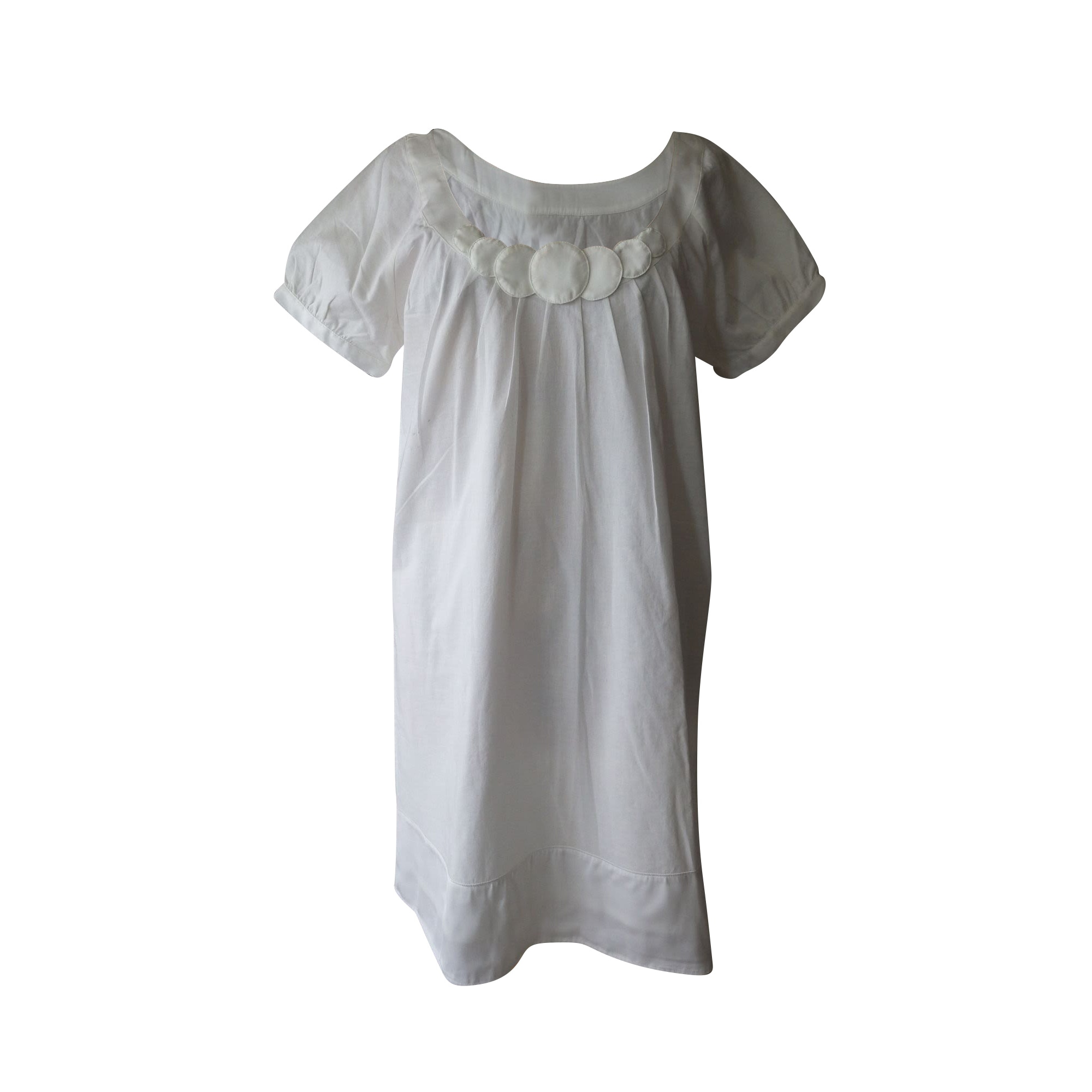Midi Dress ALAIN MANOUKIAN White, off-white, ecru