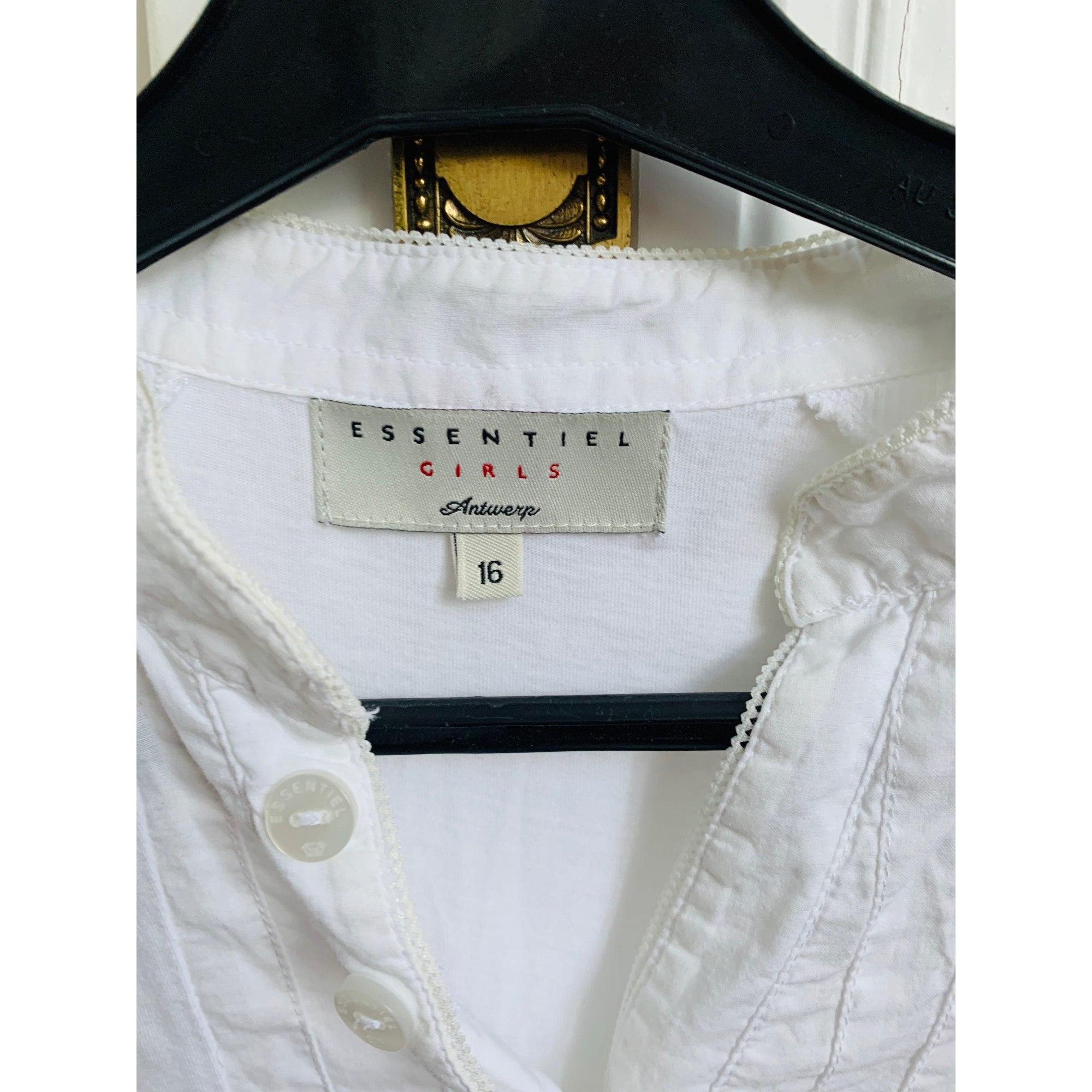 Chemise ESSENTIEL ANTWERP Blanc, blanc cassé, écru