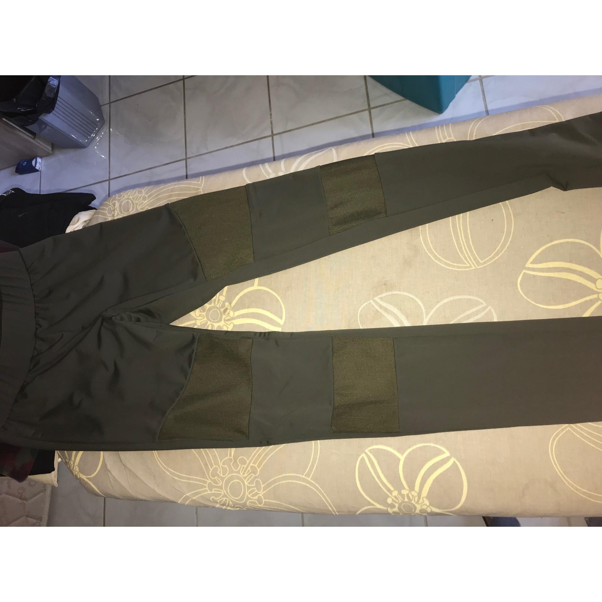Pantalon de fitness MARQUE INCONNUE Kaki