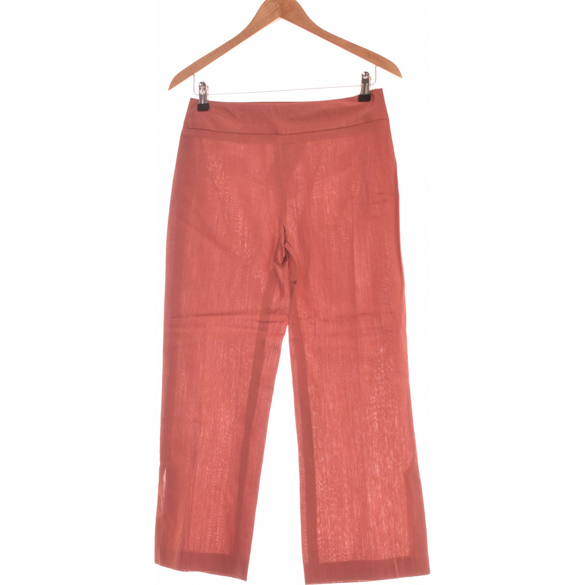 Pantalon droit ETAM Marron