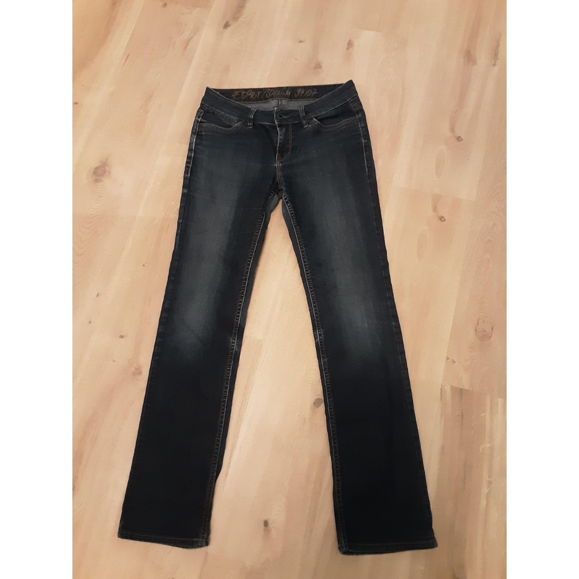 Jeans droit ESPRIT Bleu, bleu marine, bleu turquoise