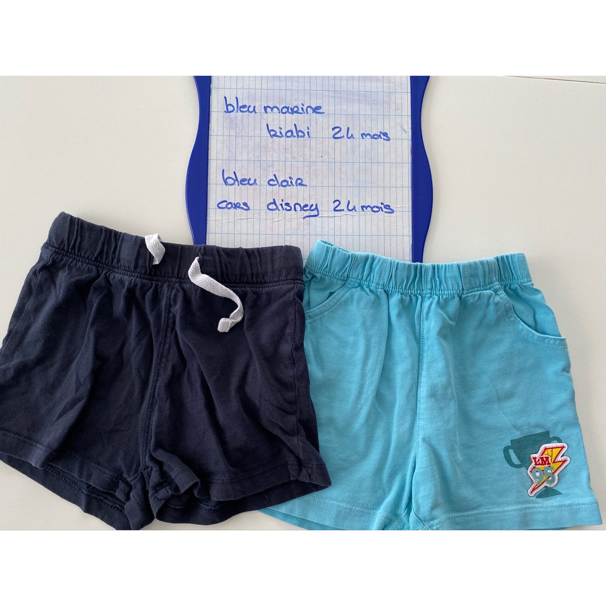 Shorts KIABI Blue, navy, turquoise