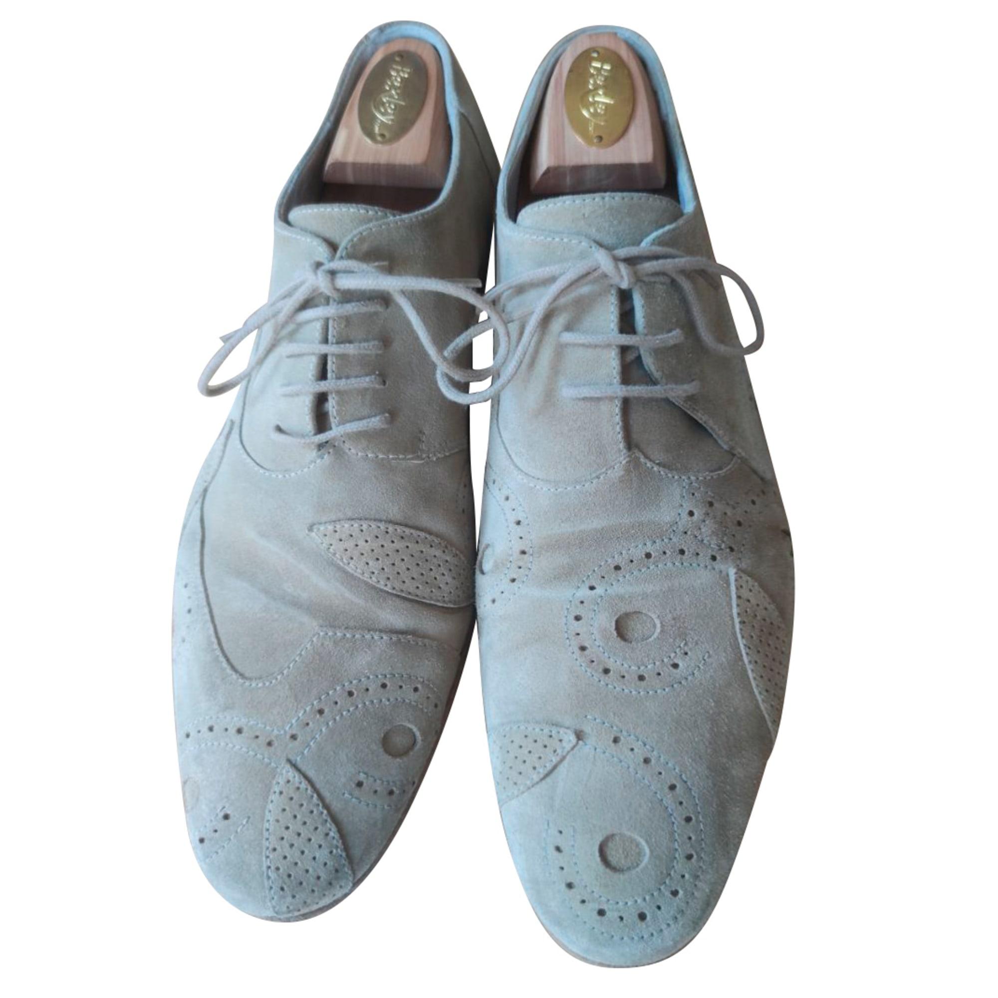 Chaussures à lacets JEAN-BAPTISTE RAUTUREAU Beige, camel