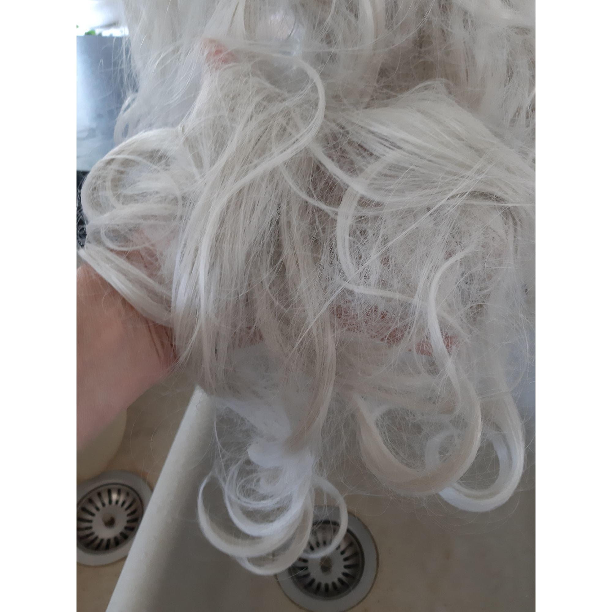 Bonnet GALERIES LAFAYETTE Blanc, blanc cassé, écru