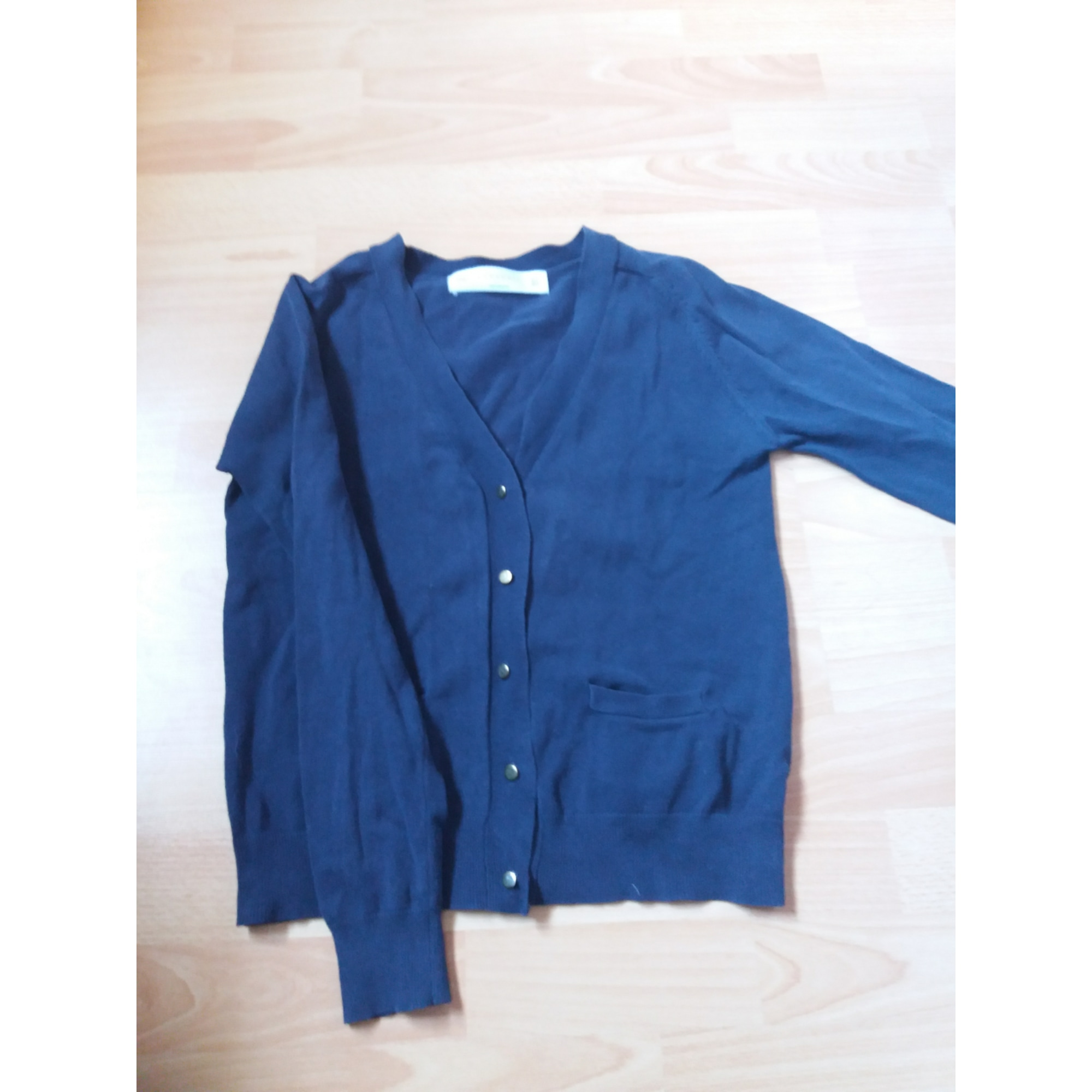 Gilet, cardigan ZARA Bleu, bleu marine, bleu turquoise