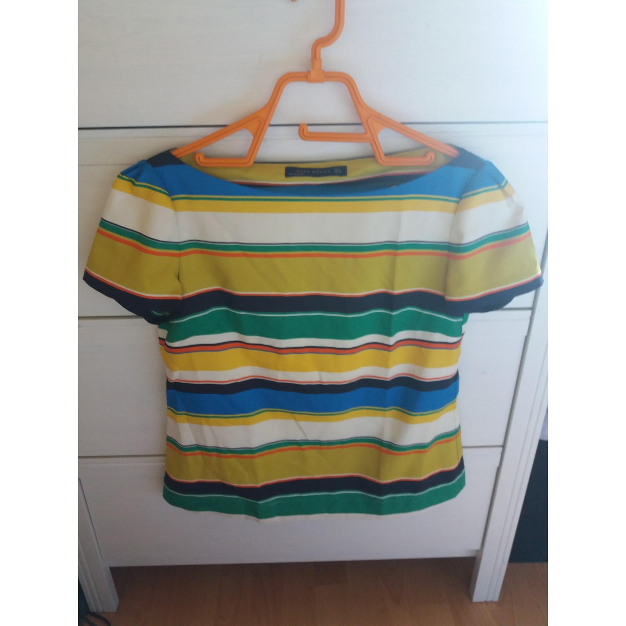 Top, tee-shirt ZARA Multicouleur