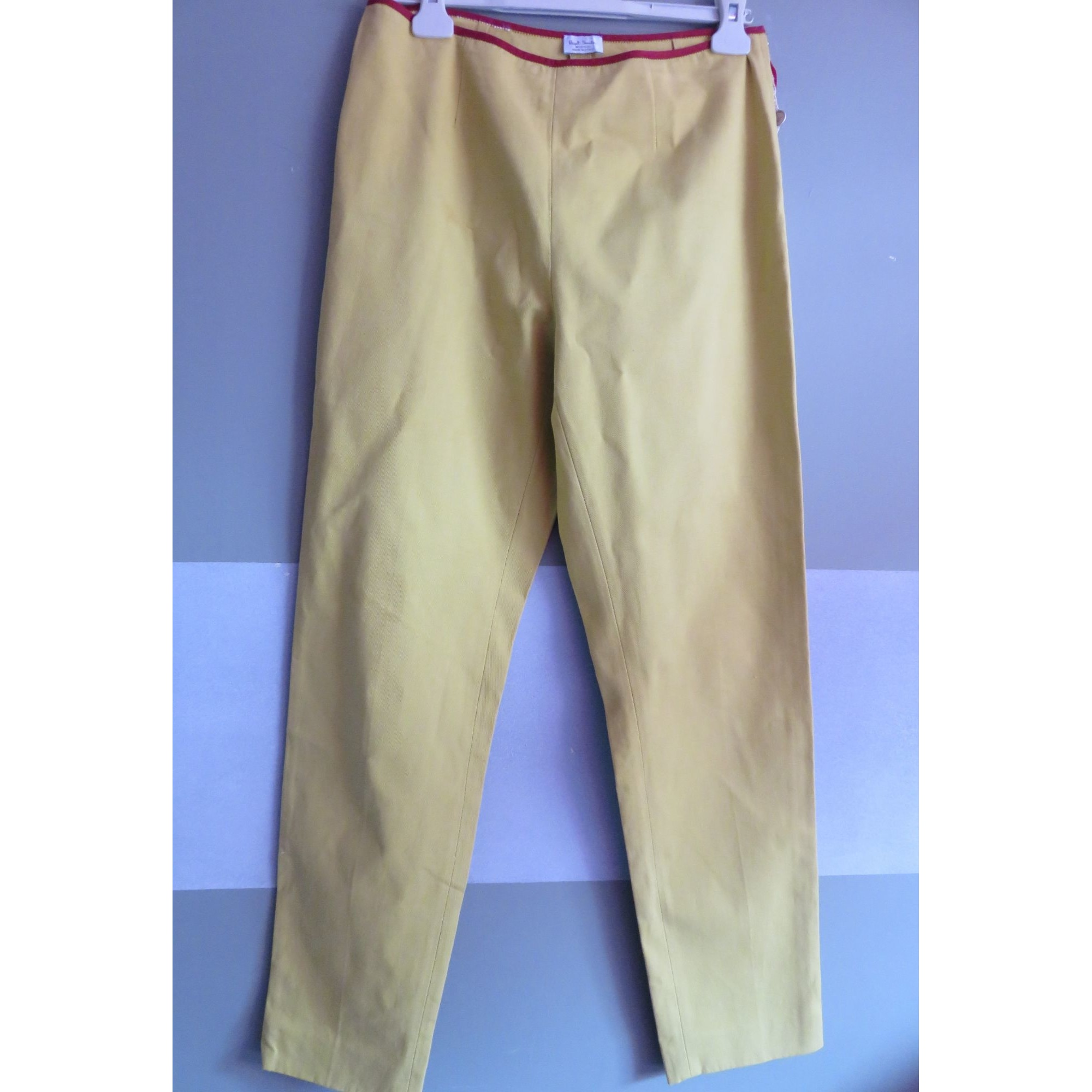 Pantalon droit PAUL SMITH Vert