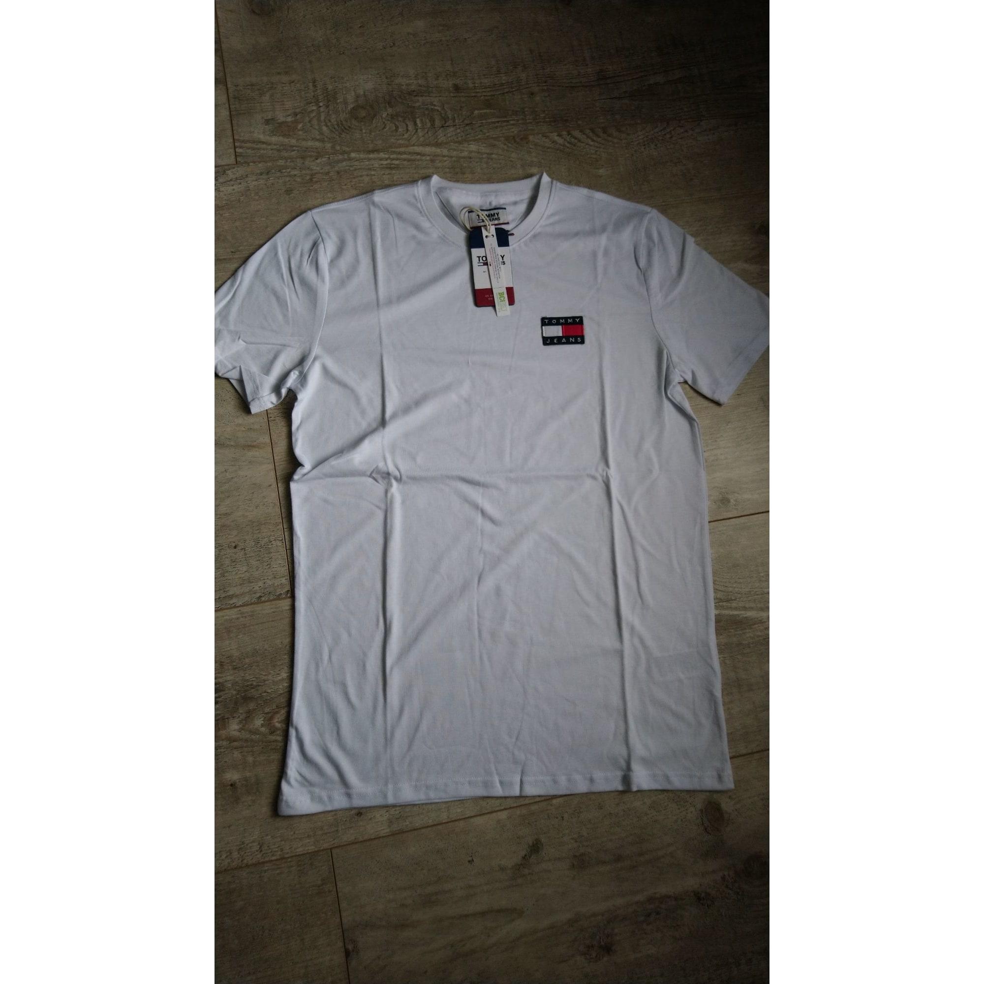 Tee-shirt TOMMY HILFIGER Blanc, blanc cassé, écru
