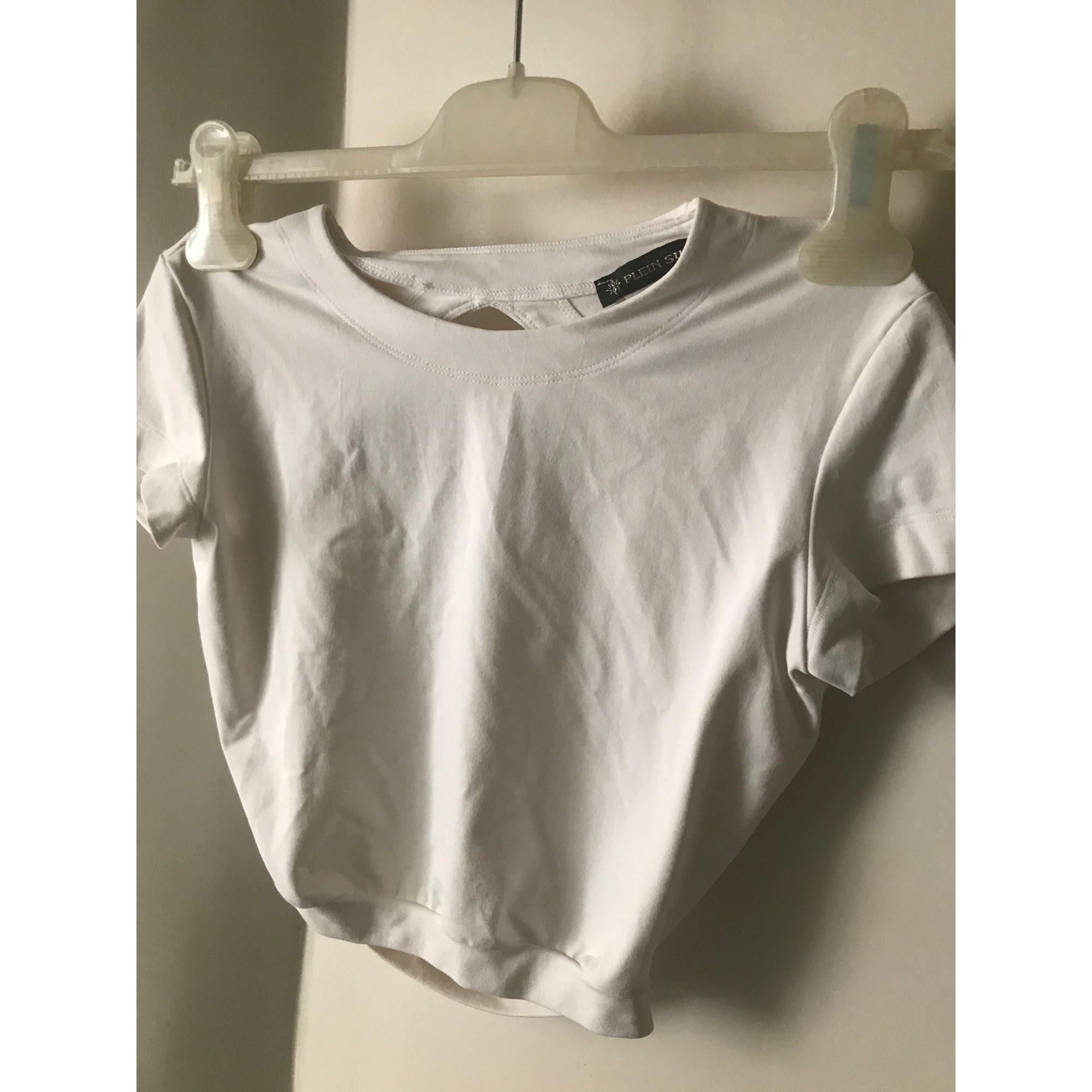 Top, tee-shirt PLEIN SUD Blanc, blanc cassé, écru