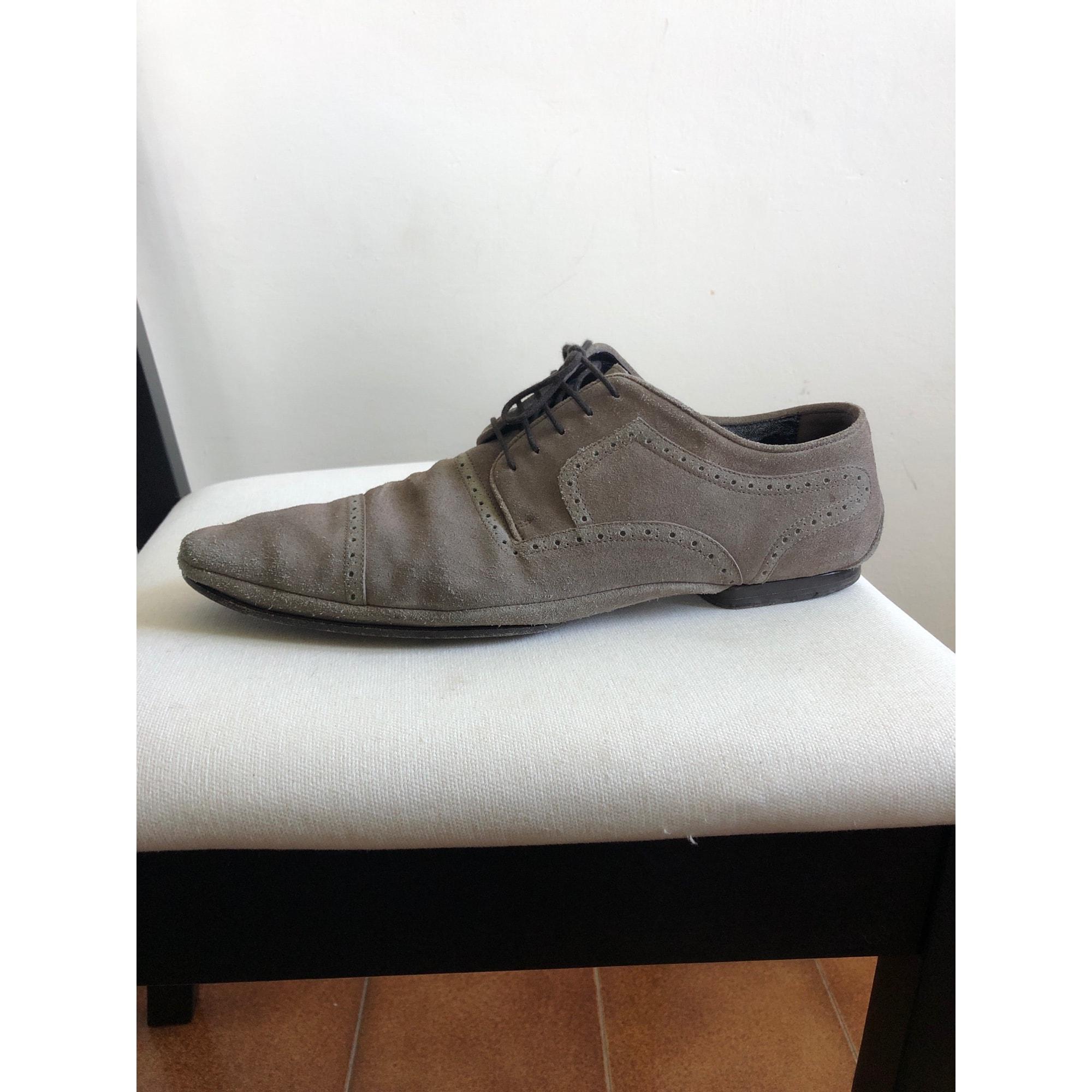 Lace Up Shoes DOLCE & GABBANA Beige, camel