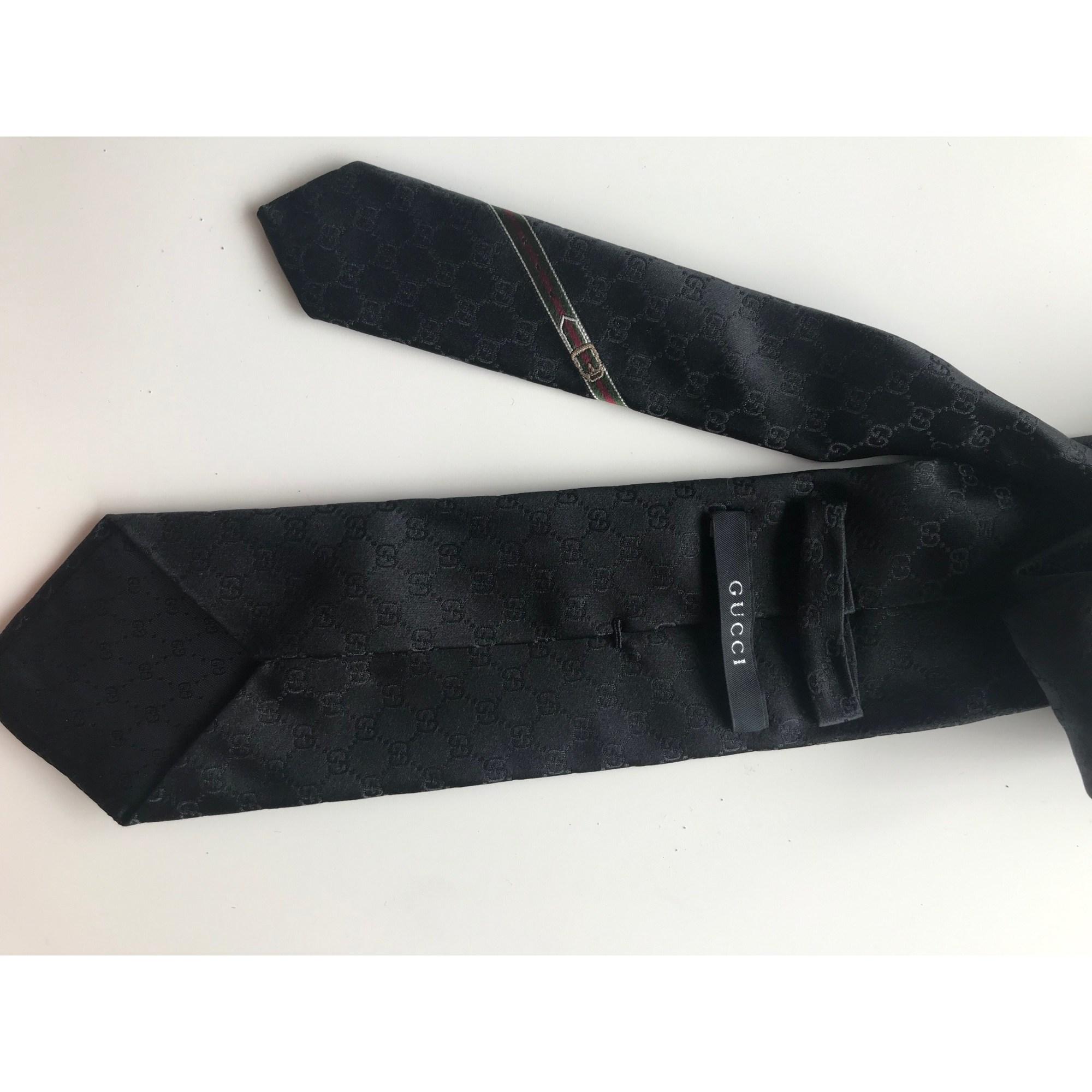 Tie GUCCI Black