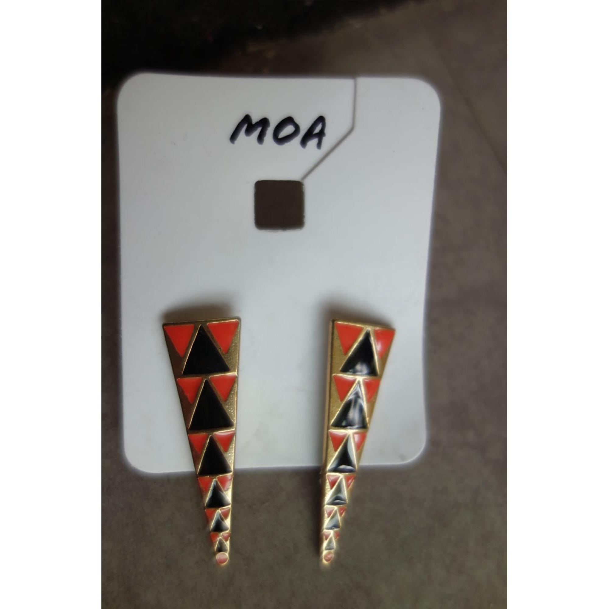 Boucles d'oreille MOA Multicouleur