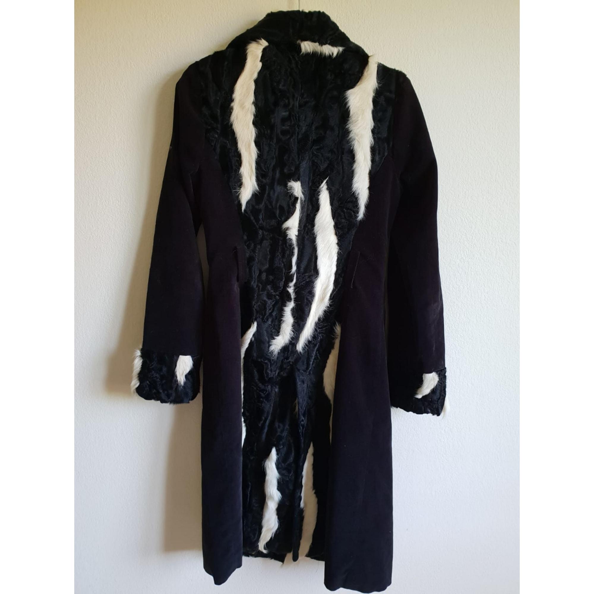 Manteau en fourrure DOLCE & GABBANA Imprimés animaliers