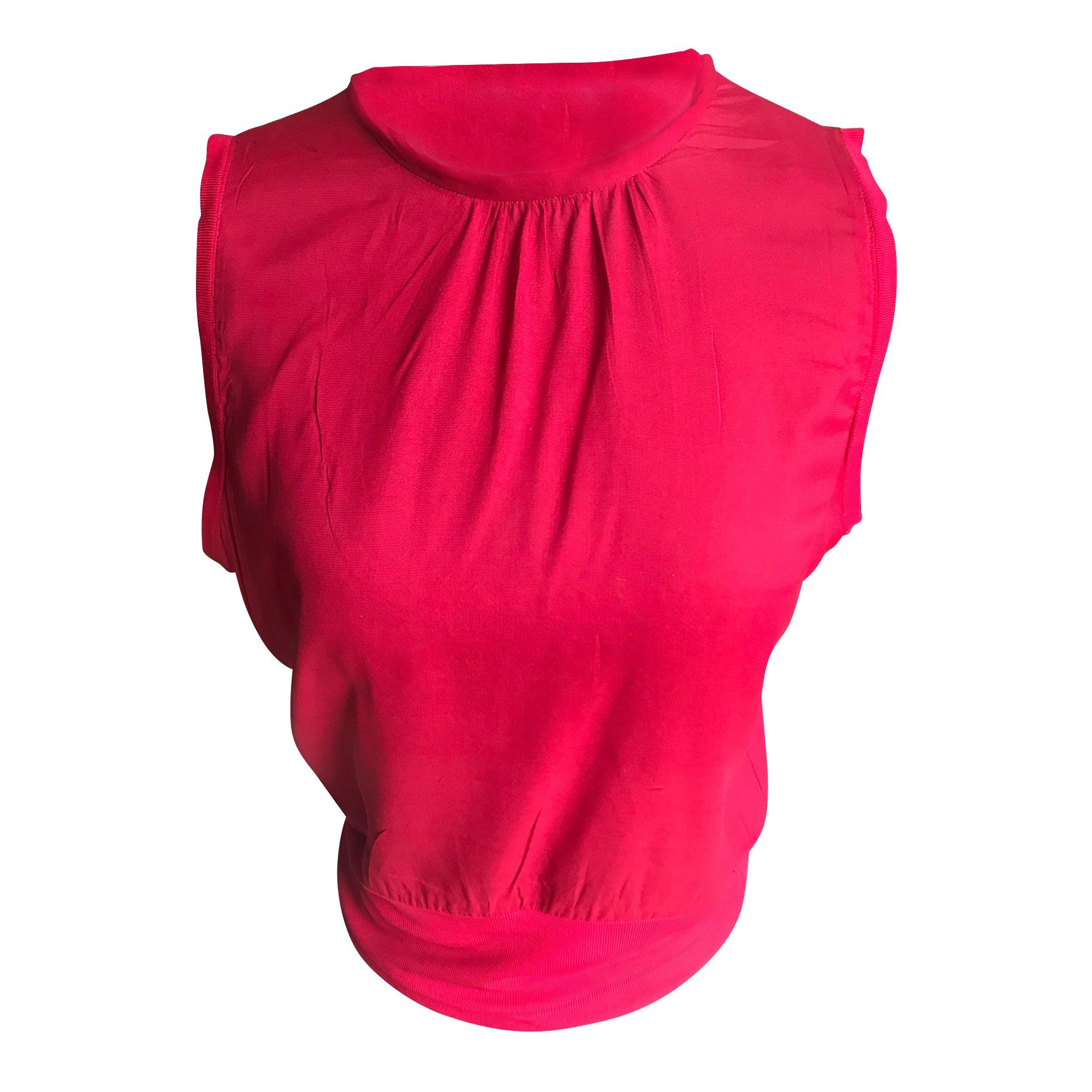 Top, tee-shirt GERARD DAREL Rouge, bordeaux