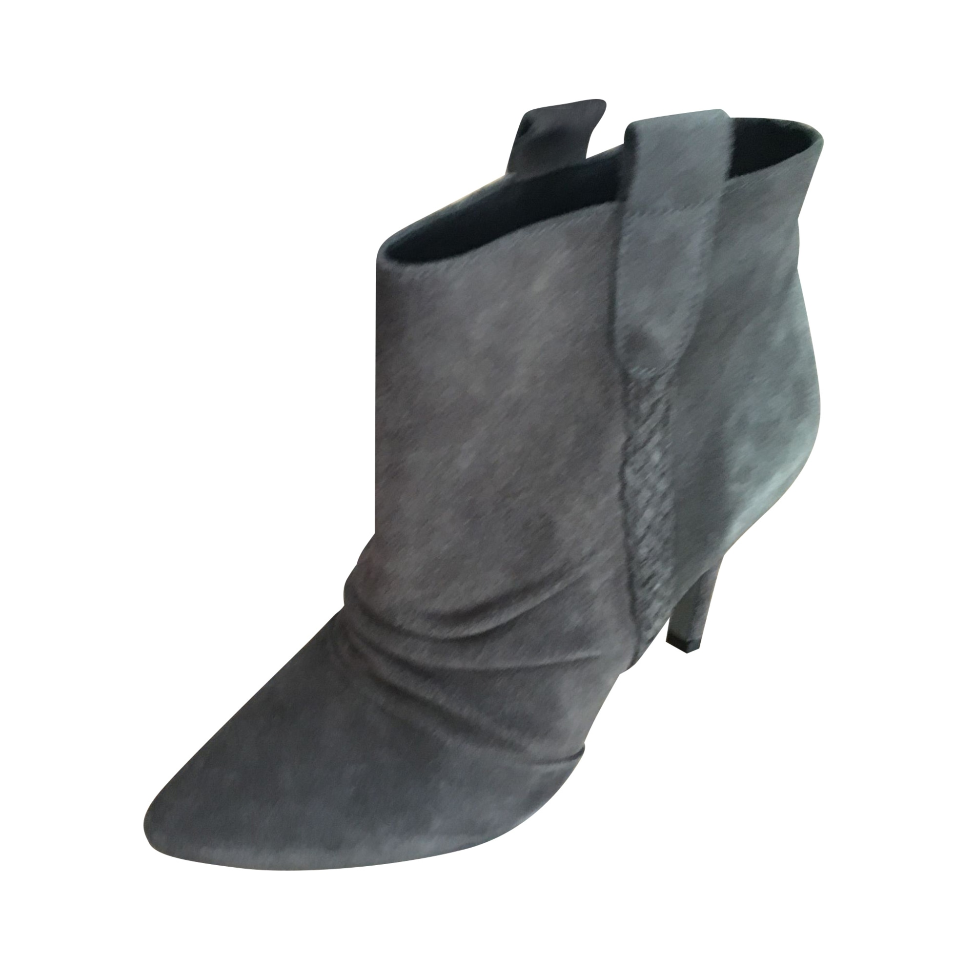 Bottines & low boots à talons IKKS Gris, anthracite