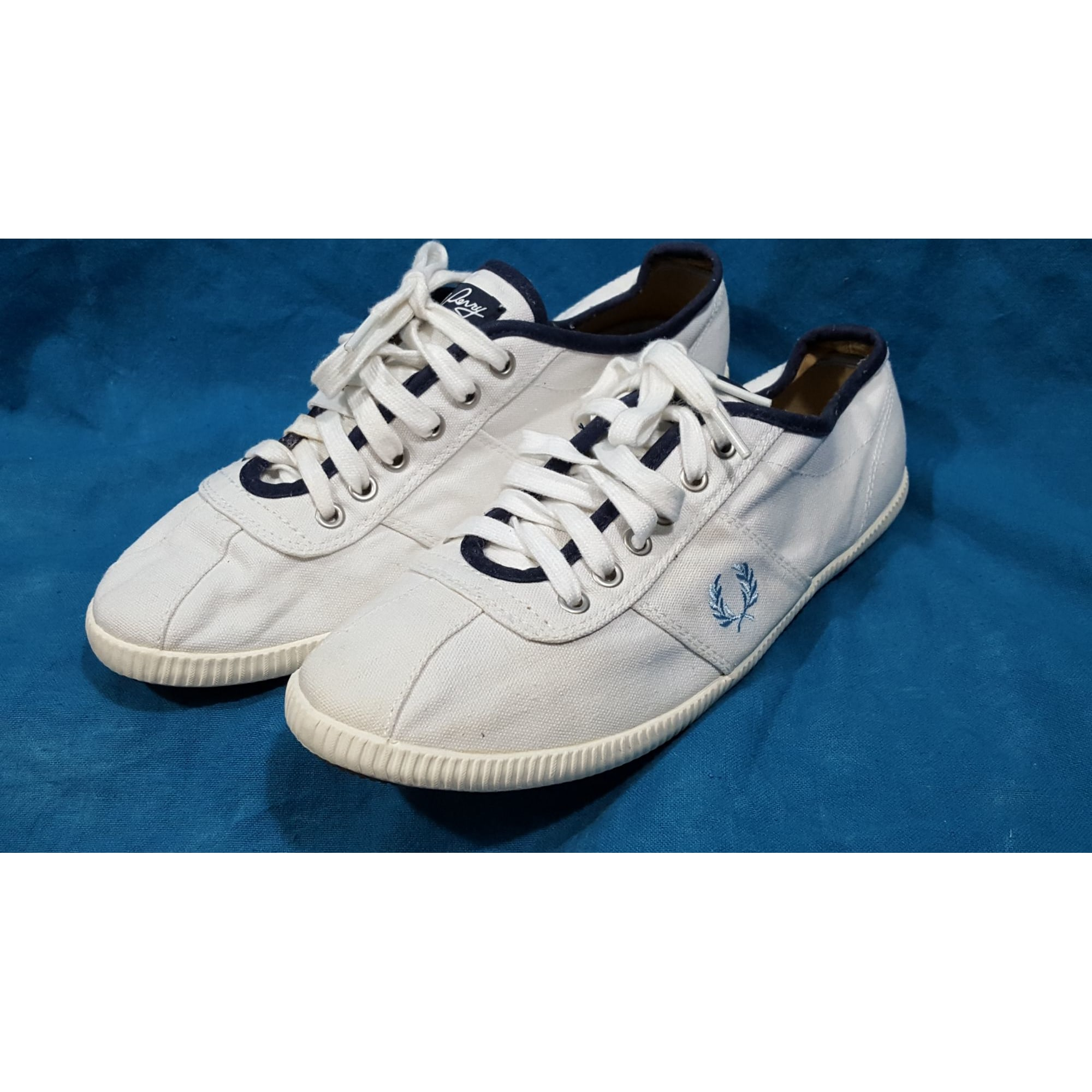Baskets FRED PERRY Blanc, blanc cassé, écru