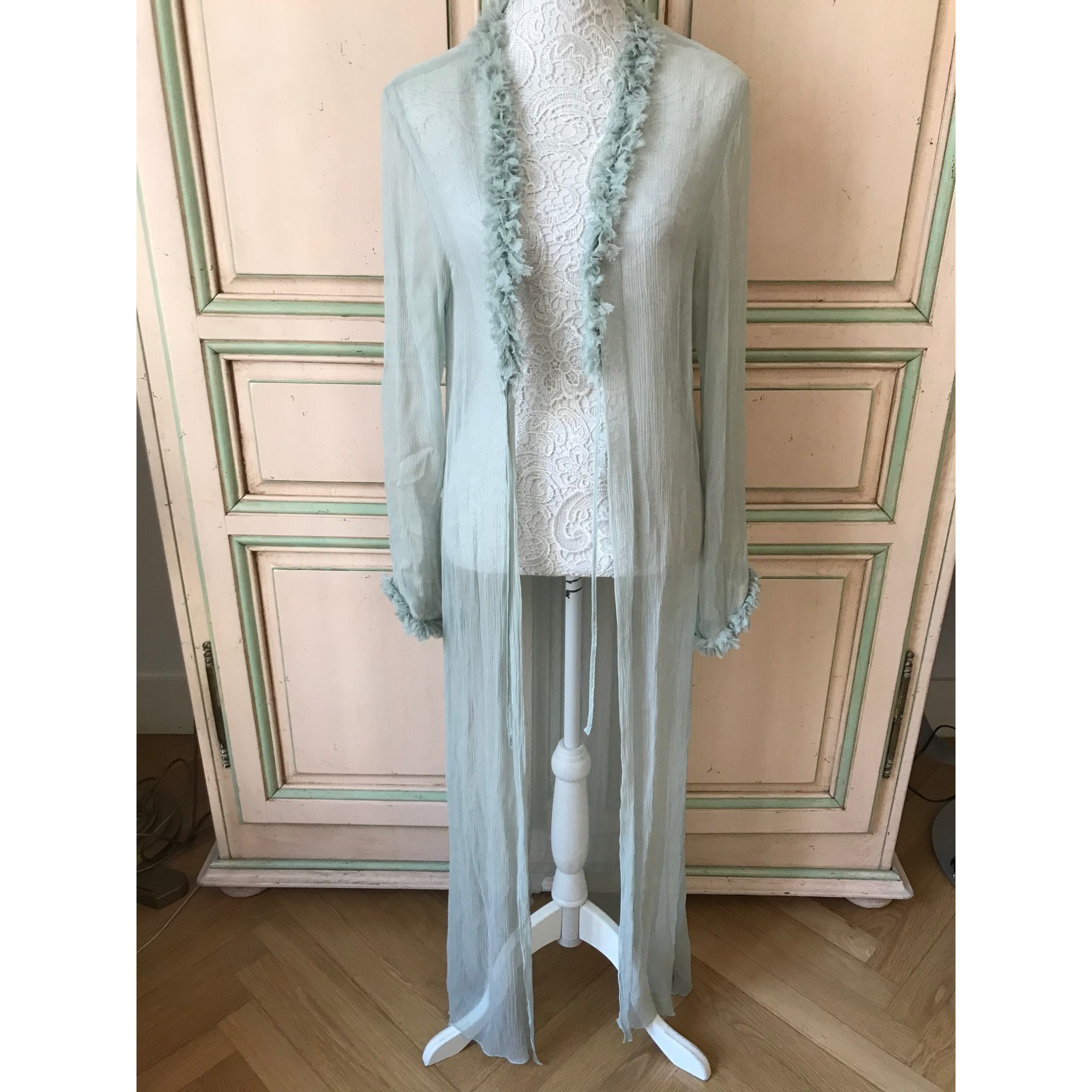 Robe de chambre CHANTAL THOMASS Vert