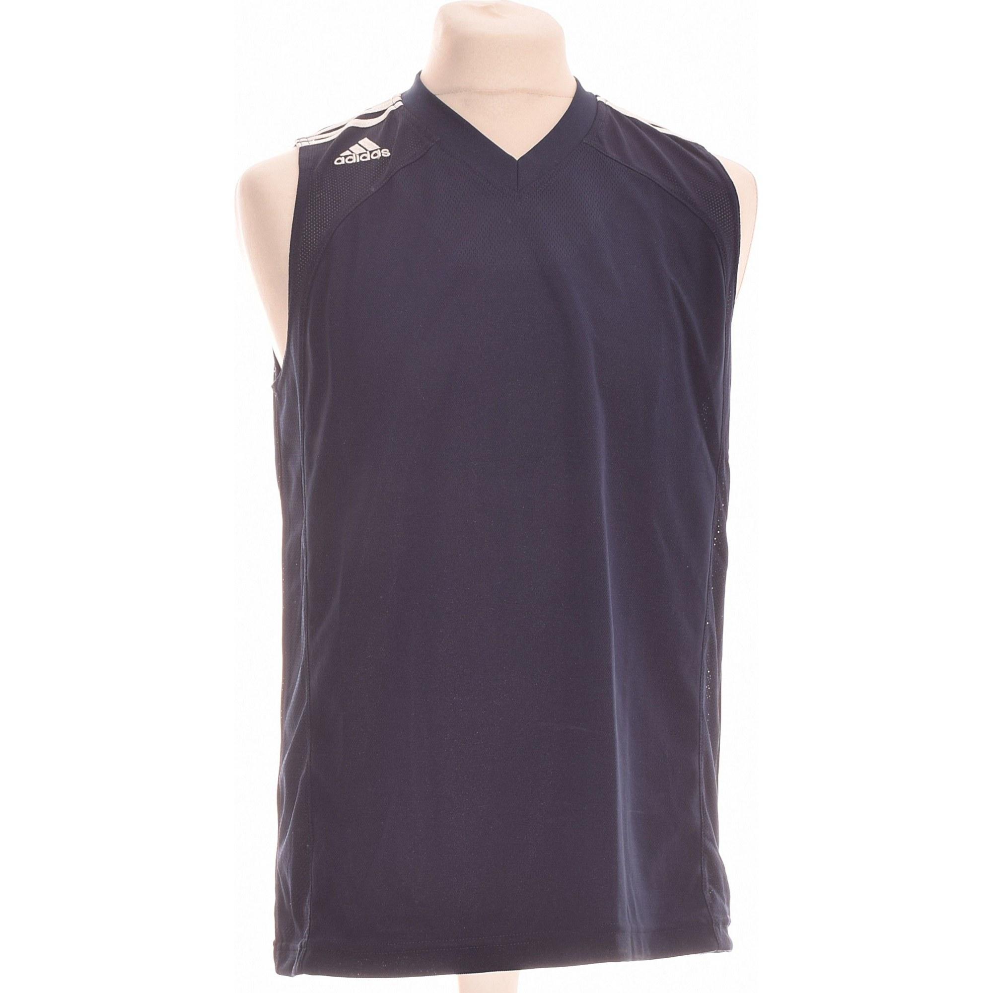 T-Shirts ADIDAS Blau, marineblau, türkisblau