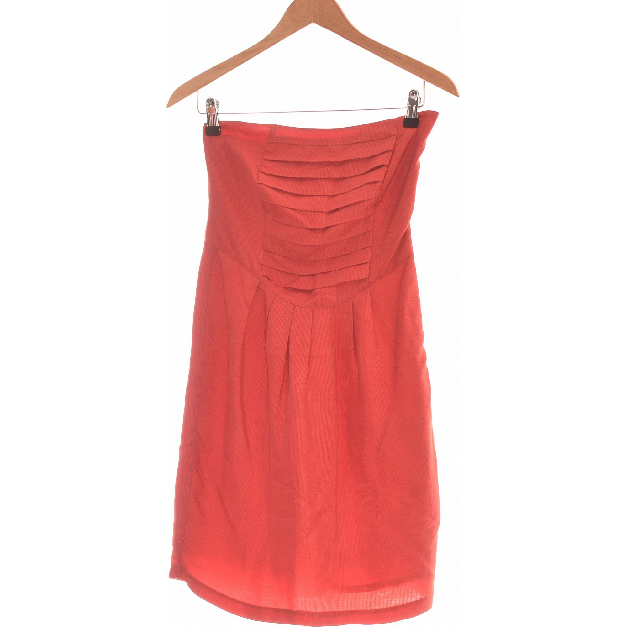 Robe courte SESSUN Rouge, bordeaux