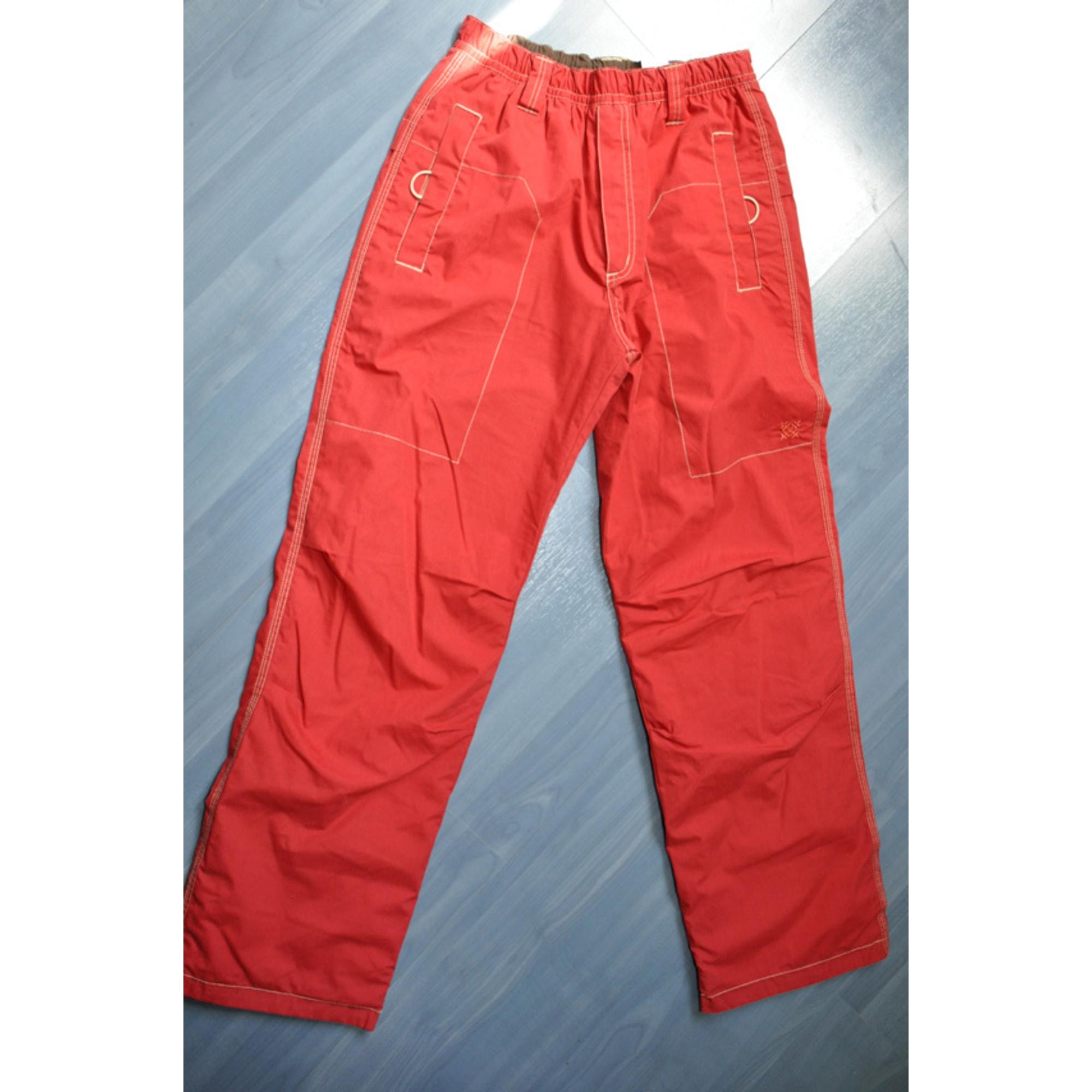 Pantalon OXBOW Rouge, bordeaux