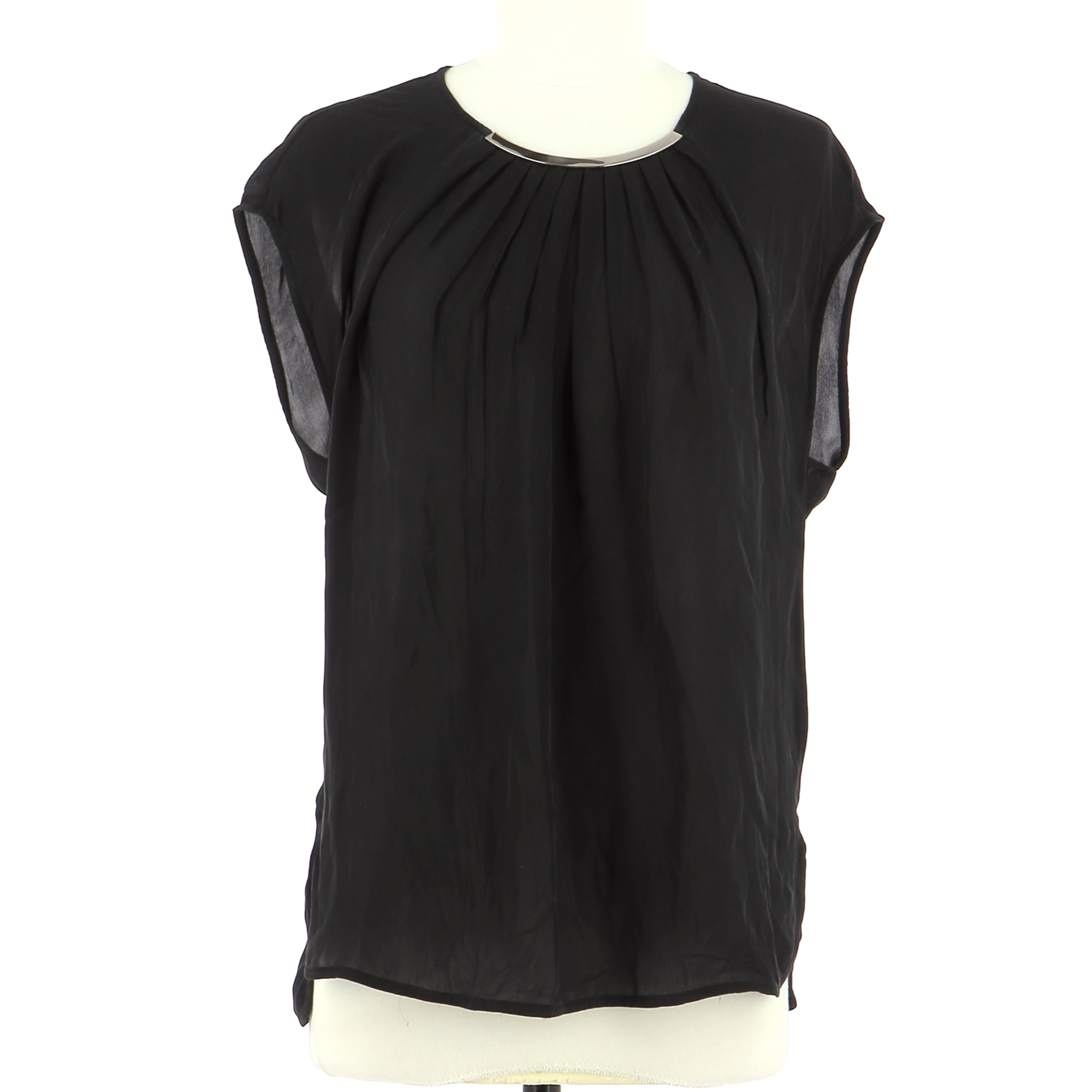 Top, tee-shirt GEORGES RECH Noir