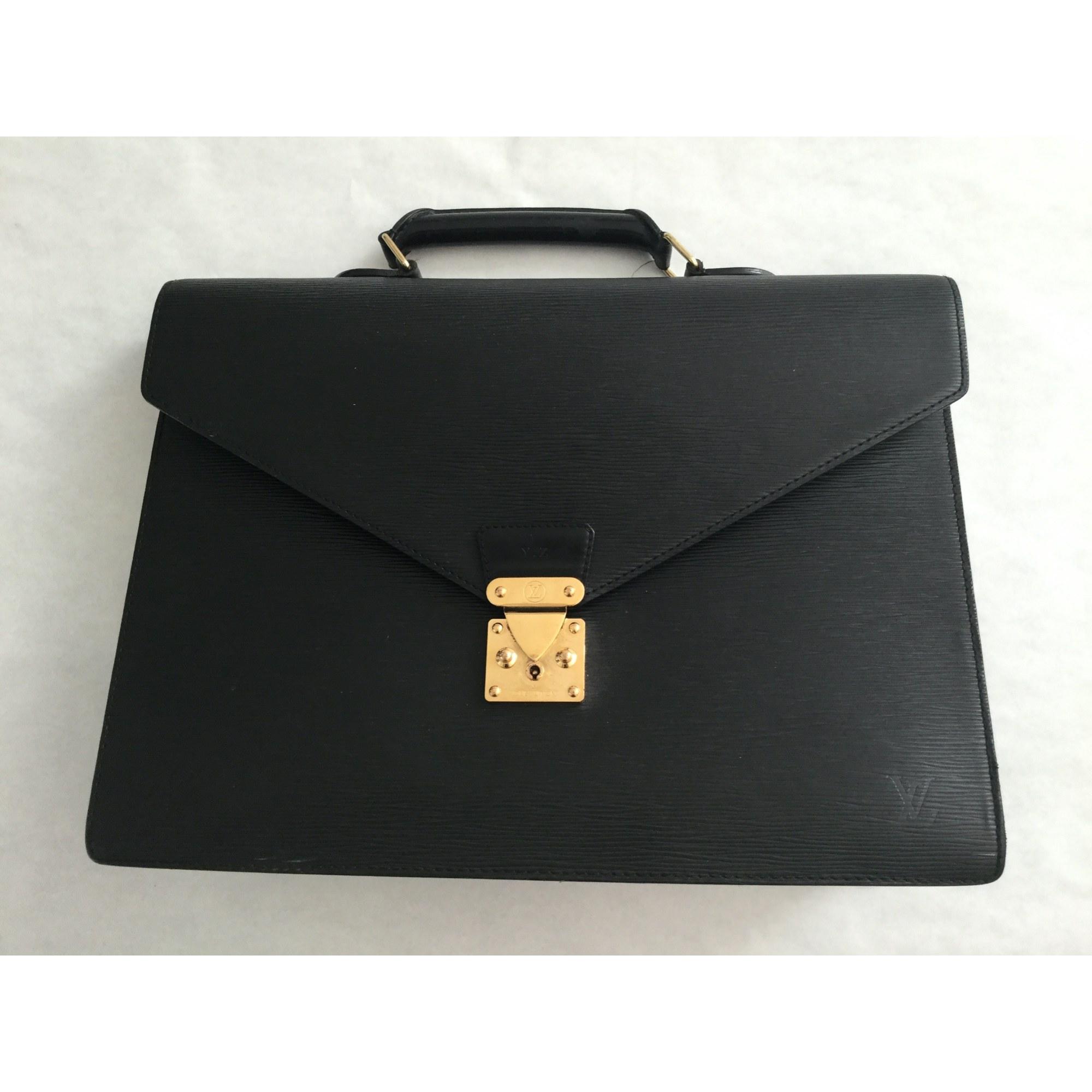 Porte document, serviette LOUIS VUITTON Noir
