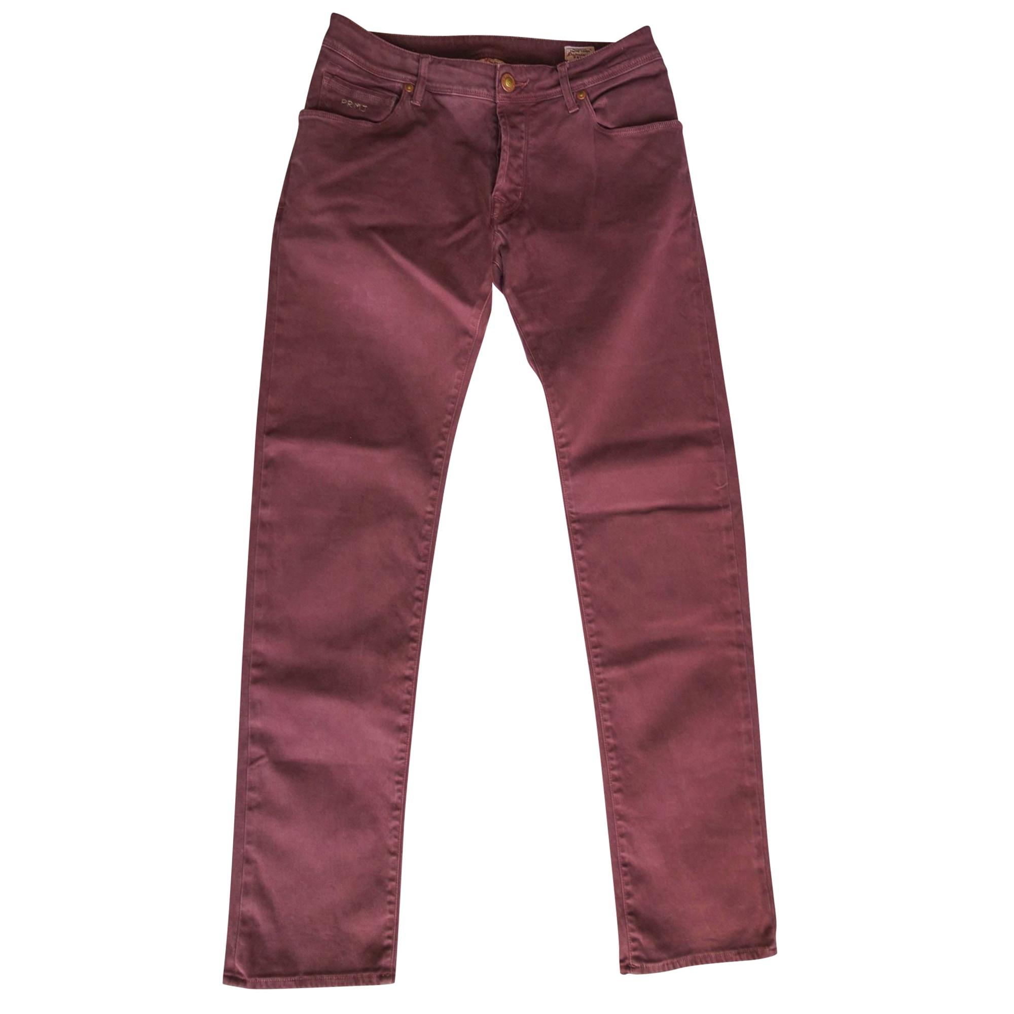 Jeans slim JACOB COHEN Violet, mauve, lavande