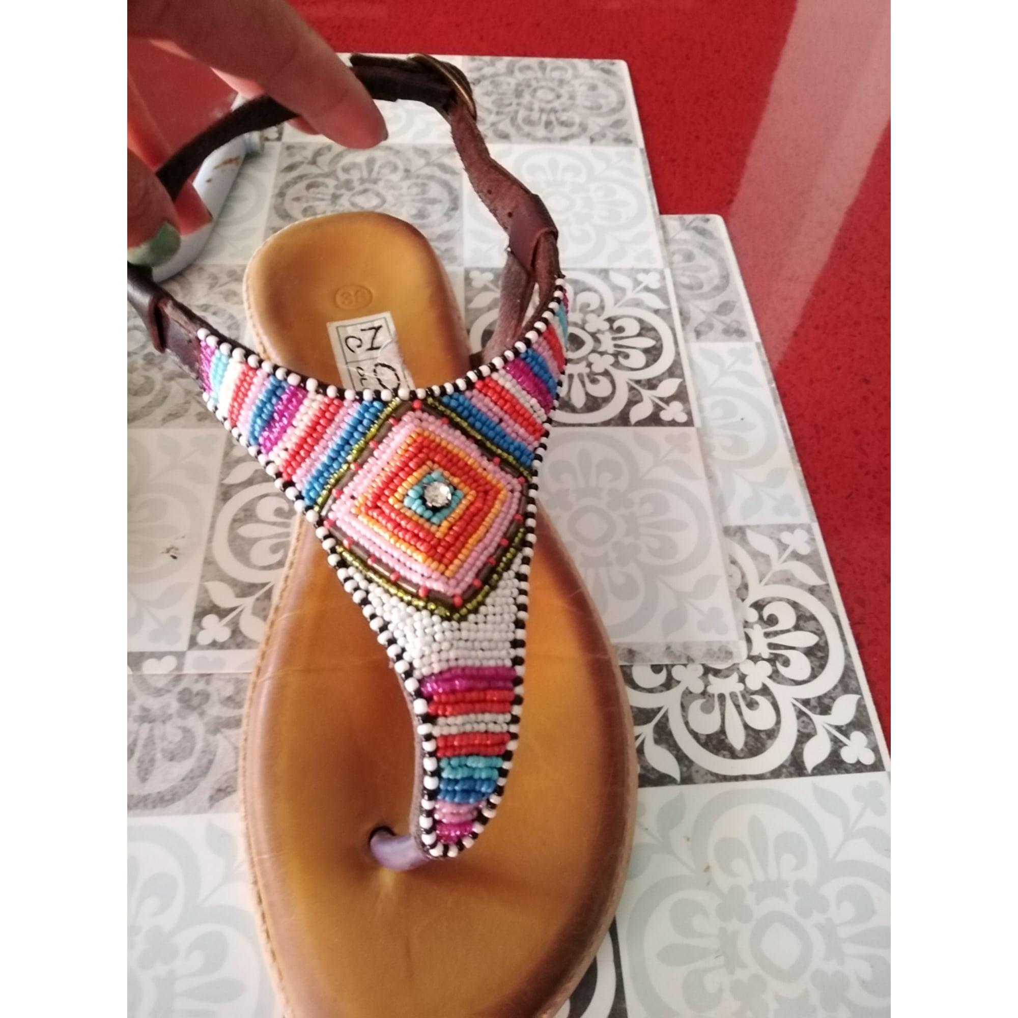 Sandales plates  NOW COLLECTION Multicouleur