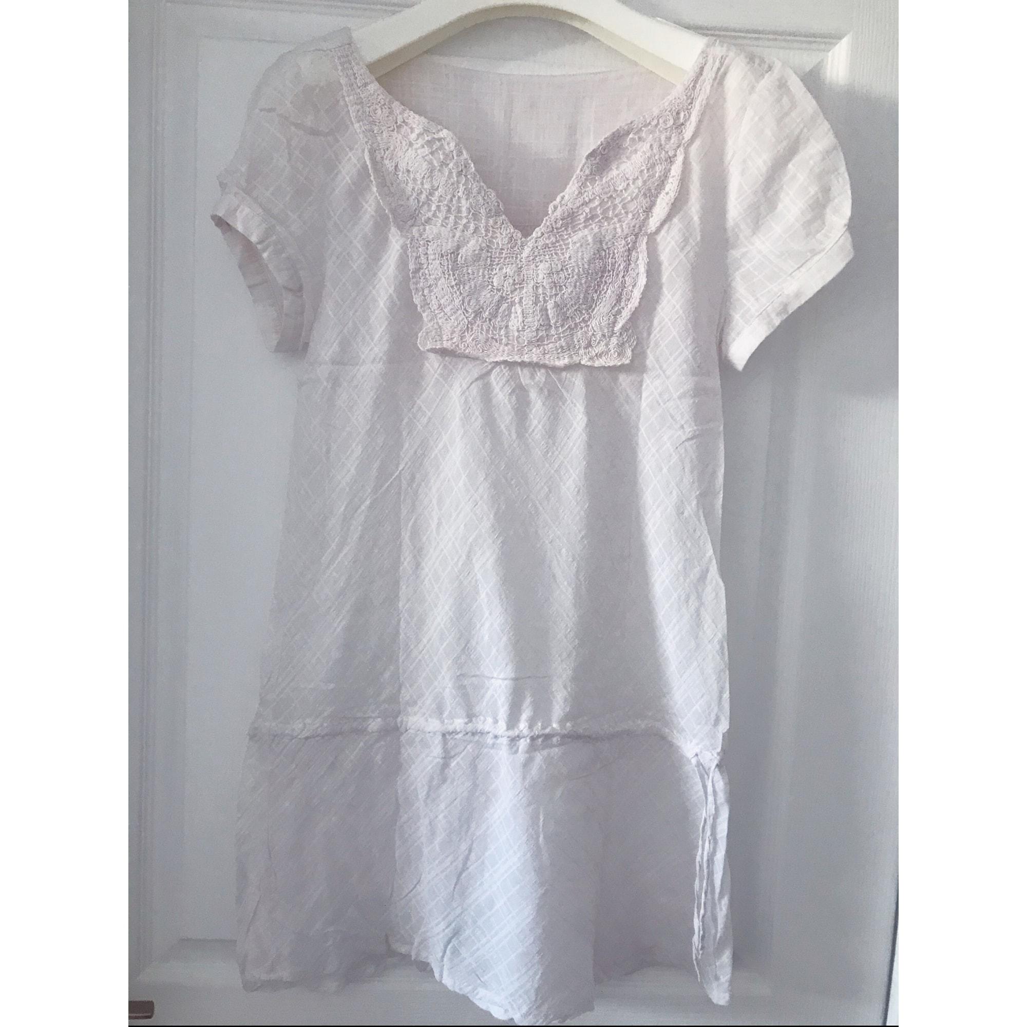 Tunique MARQUE INCONNUE Blanc, blanc cassé, écru