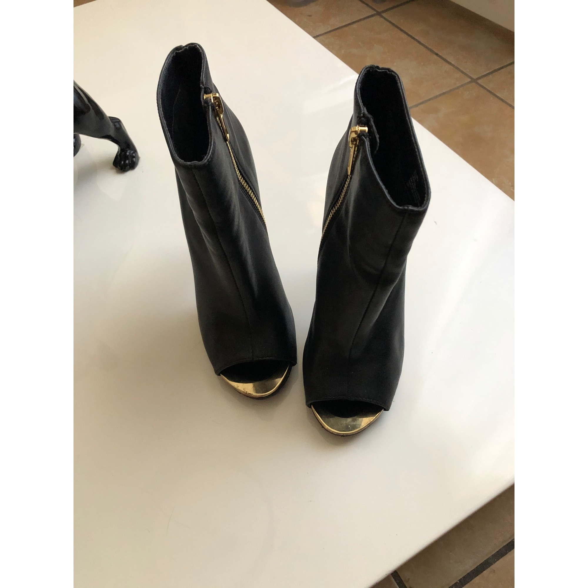 High Heel Ankle Boots STEVE MADDEN Black