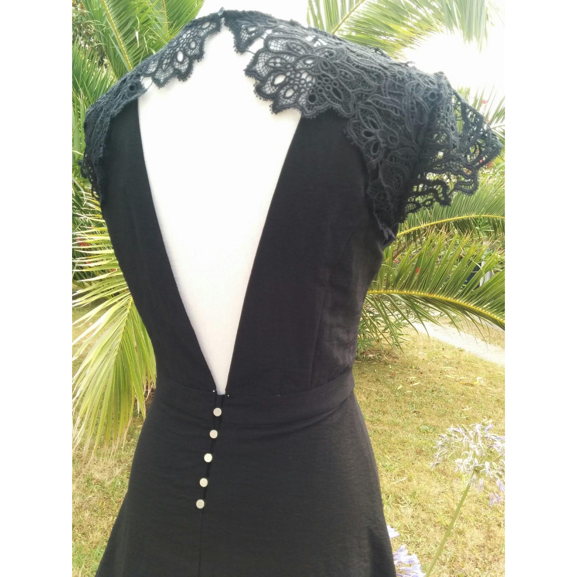 Robe dos nu SUNCOO Noir