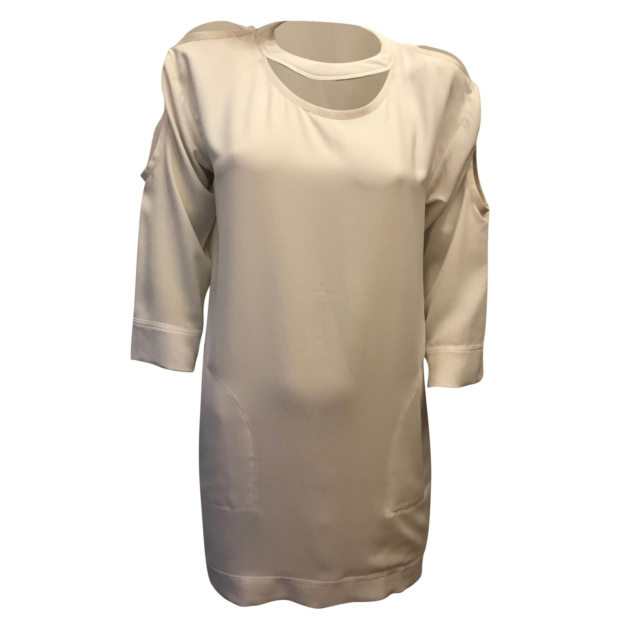 Mini Dress IRO White, off-white, ecru