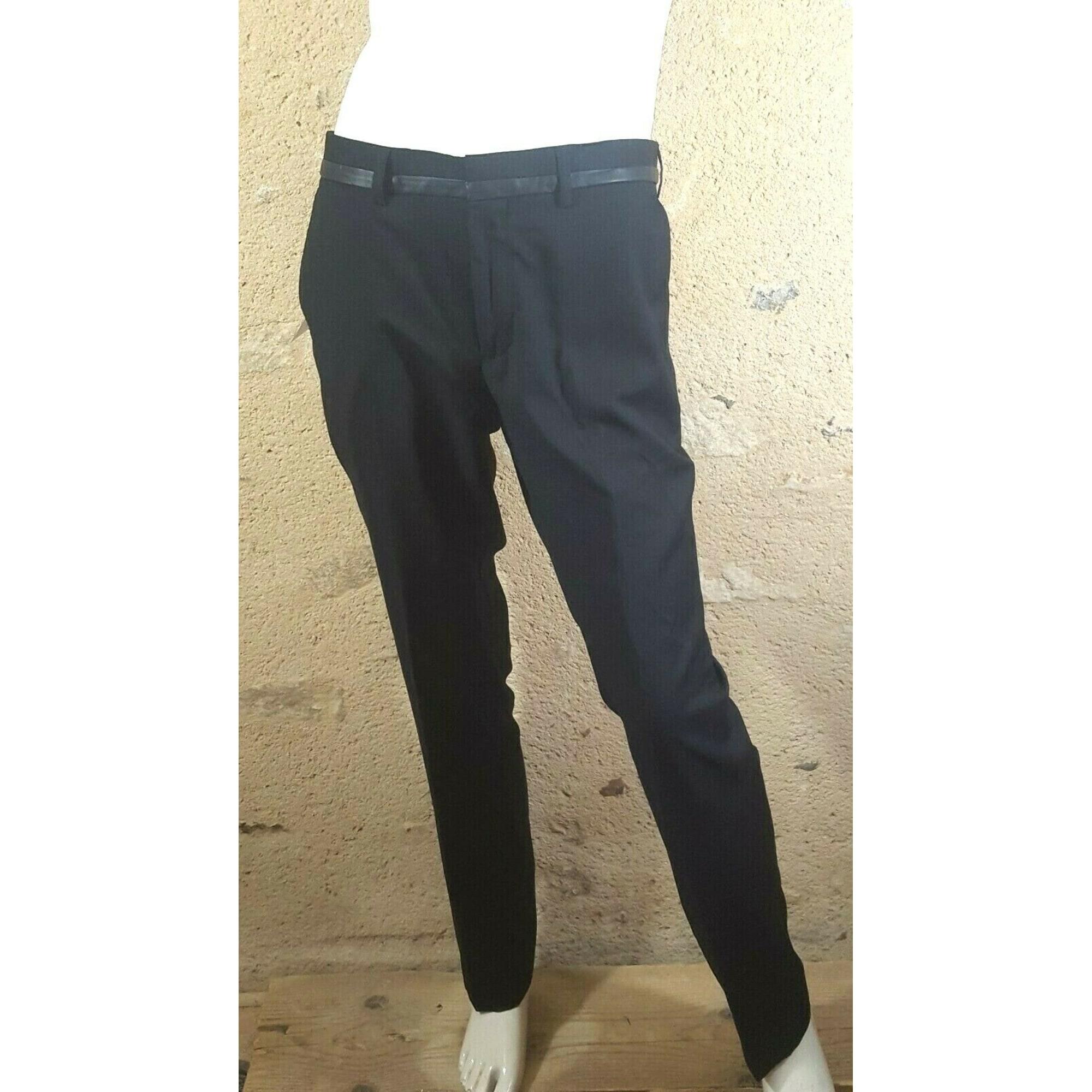 Pantalon droit LIBERTO Noir