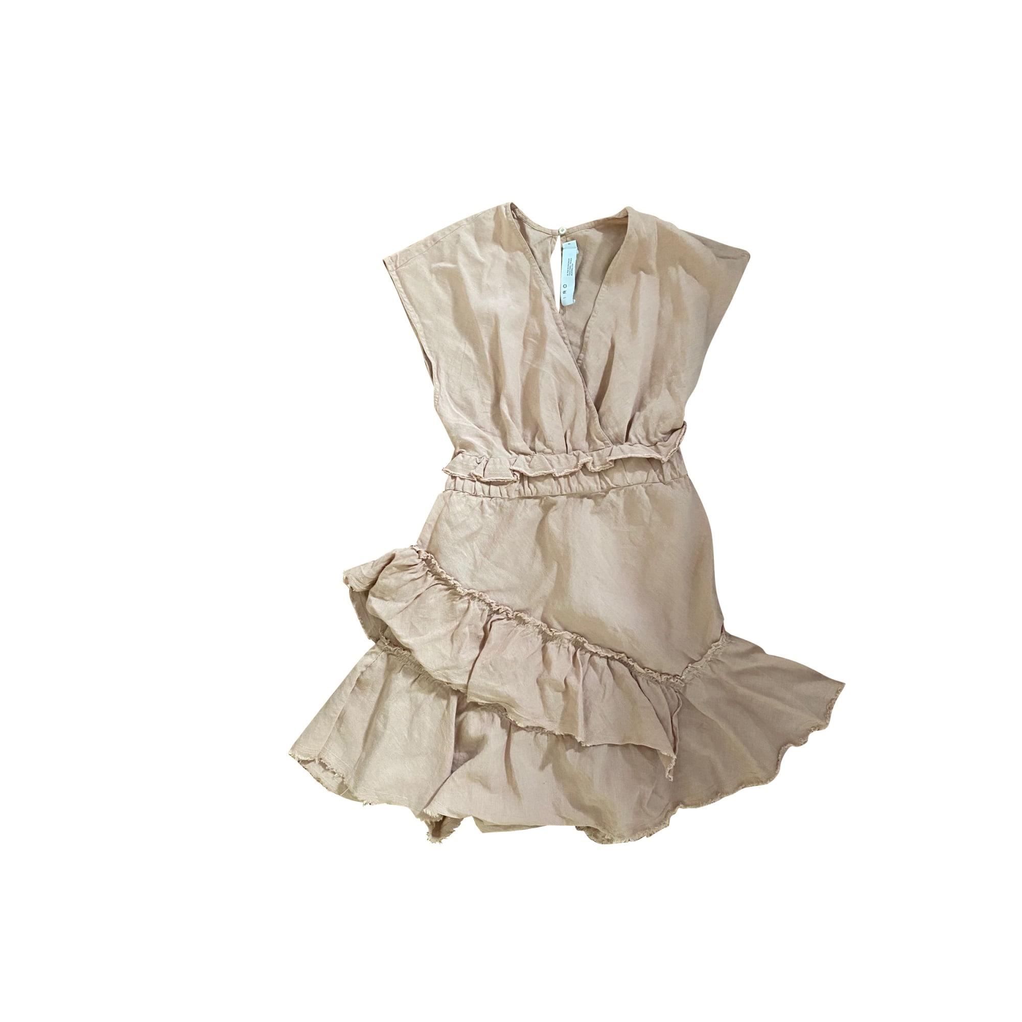 Mini Dress IRO Beige, camel