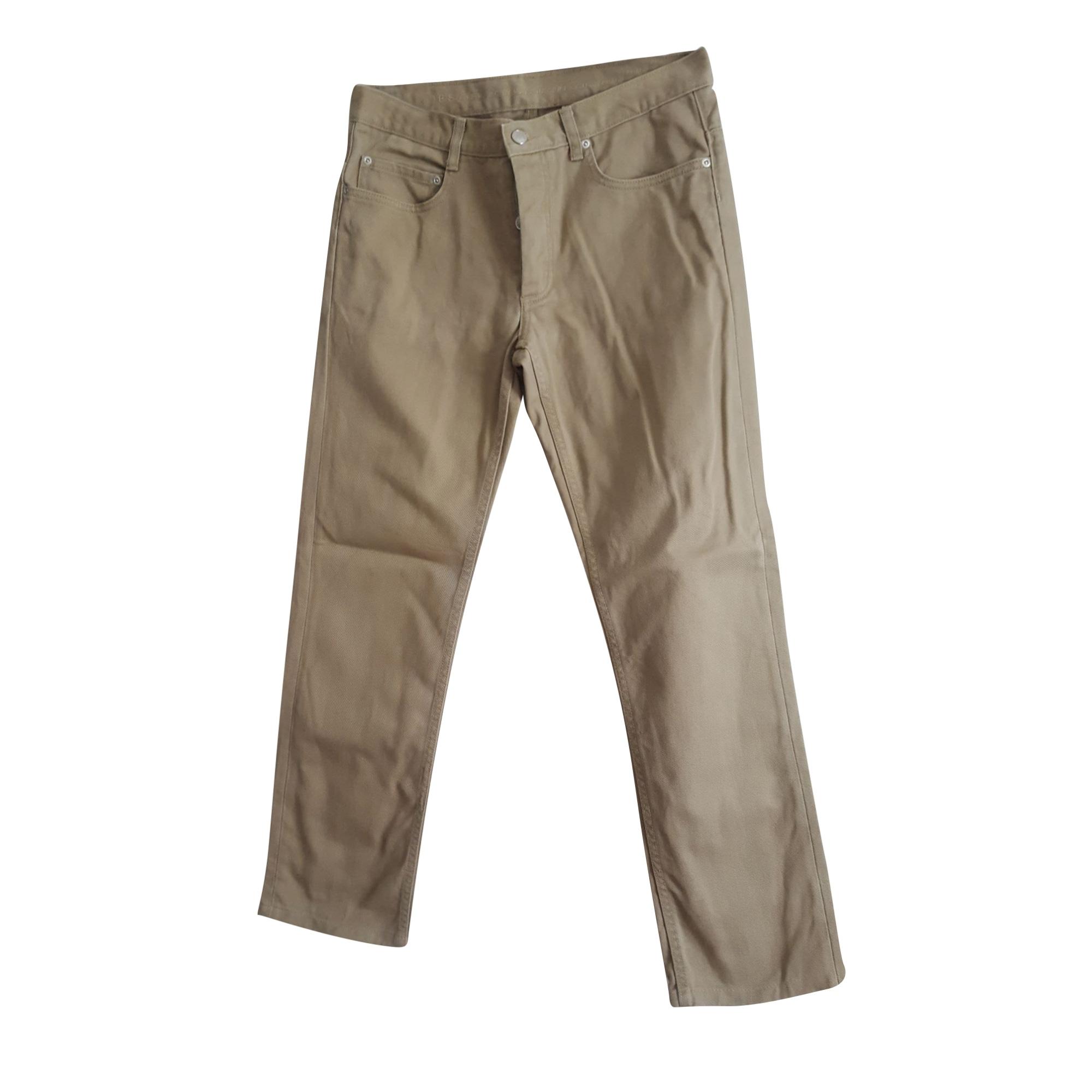 Pantalon droit MARC JACOBS Beige, camel
