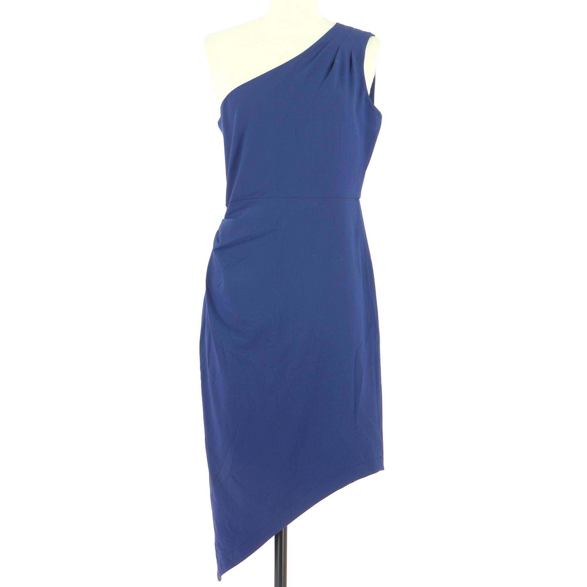 Robe mi-longue BCBG MAX AZRIA Bleu, bleu marine, bleu turquoise