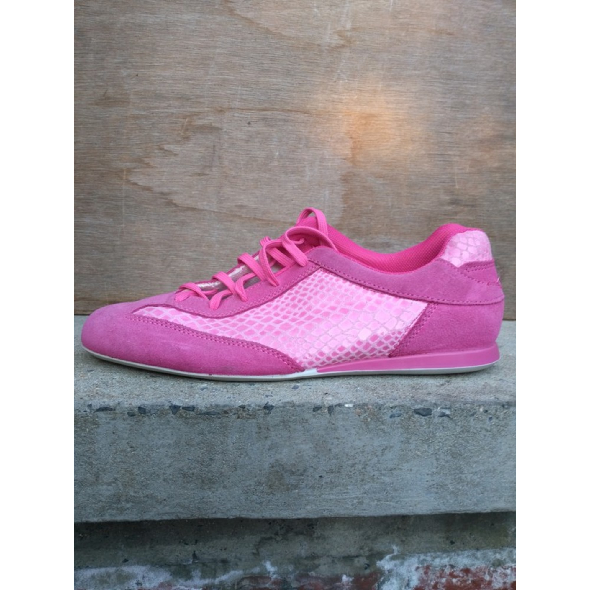 Baskets STREET SHOES Rose, fuschia, vieux rose