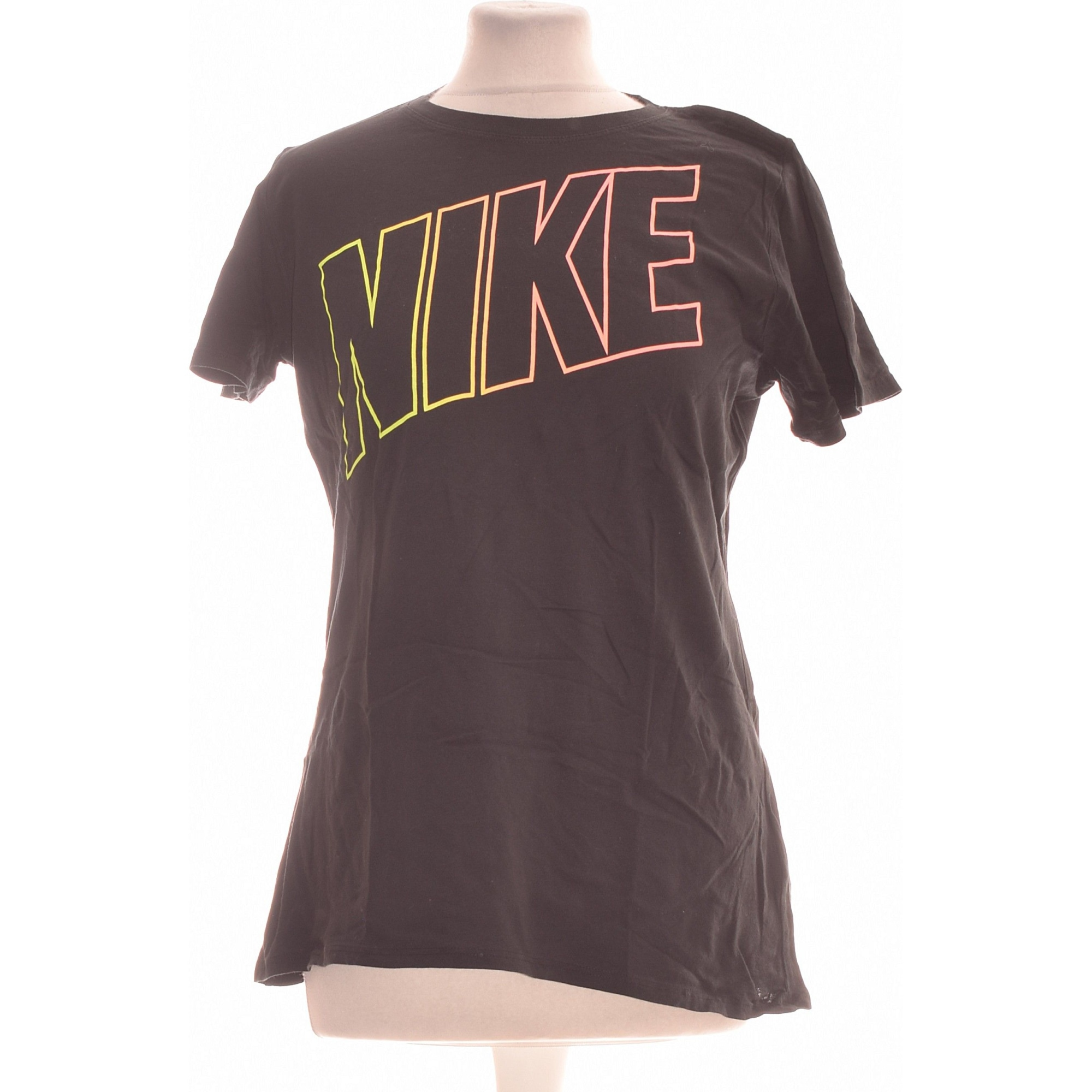Top, tee-shirt NIKE Noir