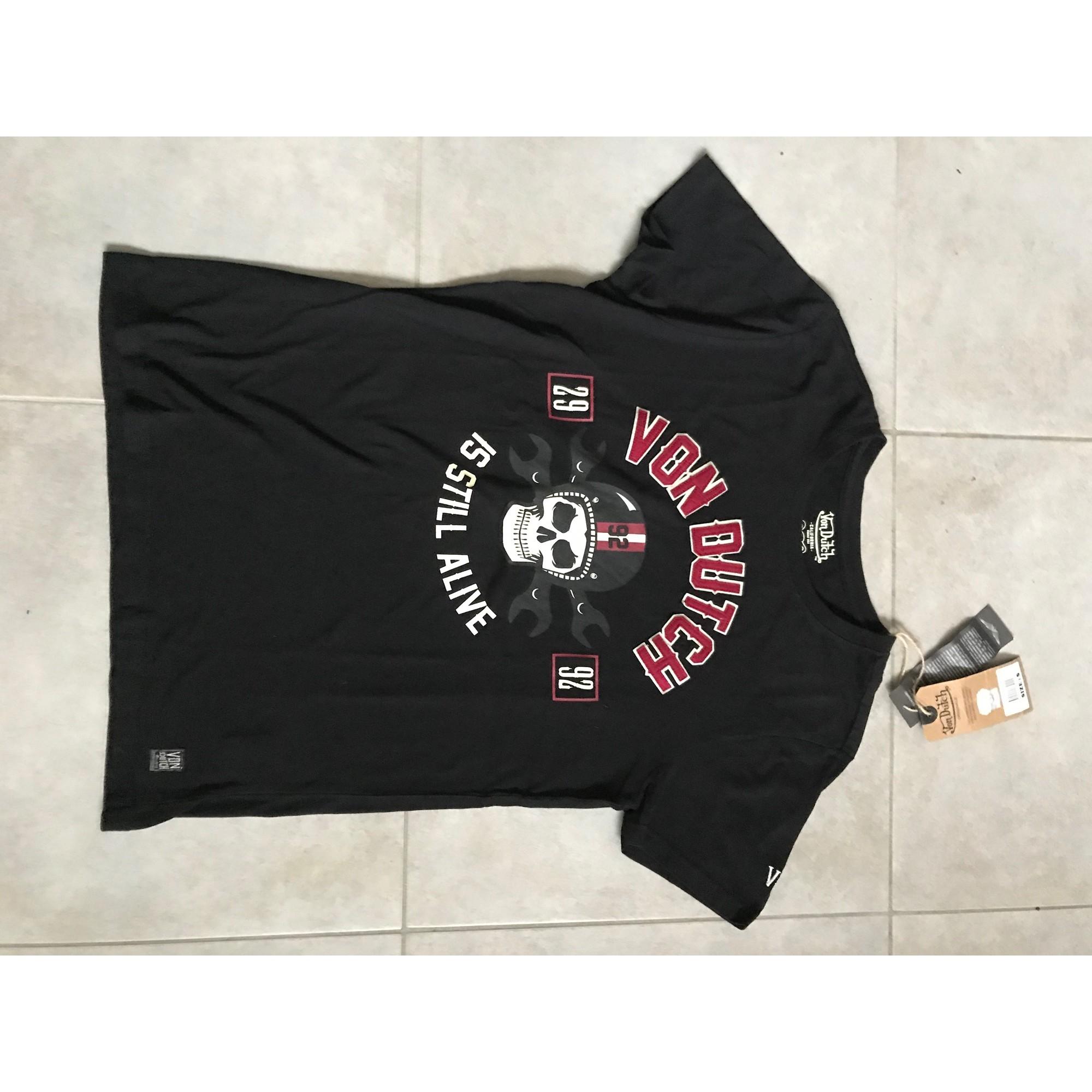 Top, tee-shirt VON DUTCH Noir