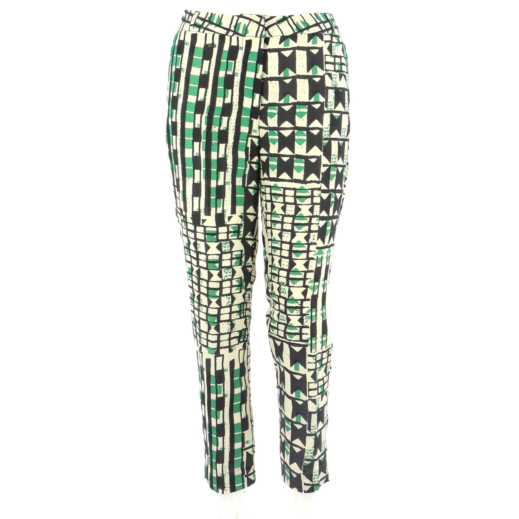 Pantalon droit STELLA FOREST Multicouleur
