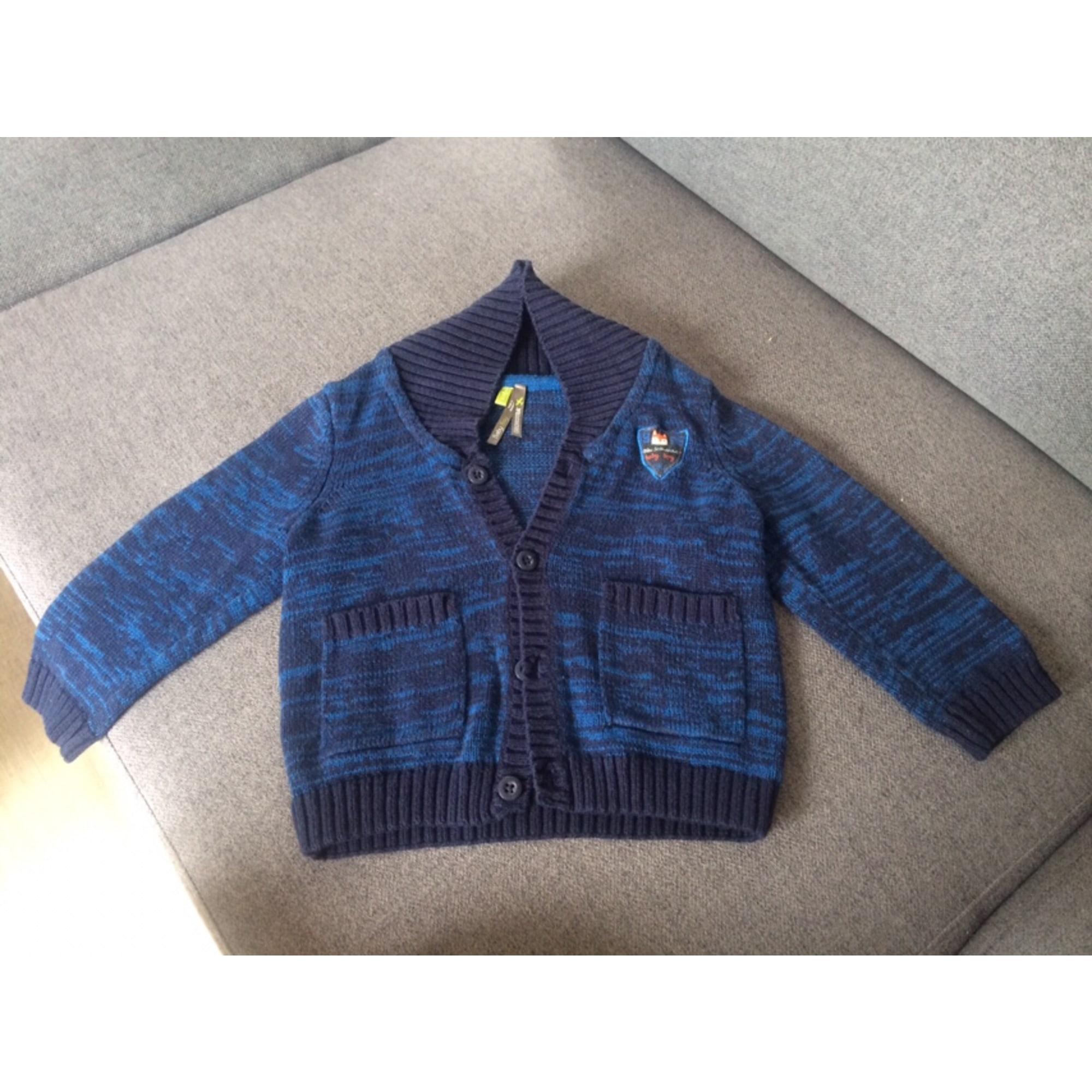 Gilet, cardigan ORCHESTRA Bleu, bleu marine, bleu turquoise