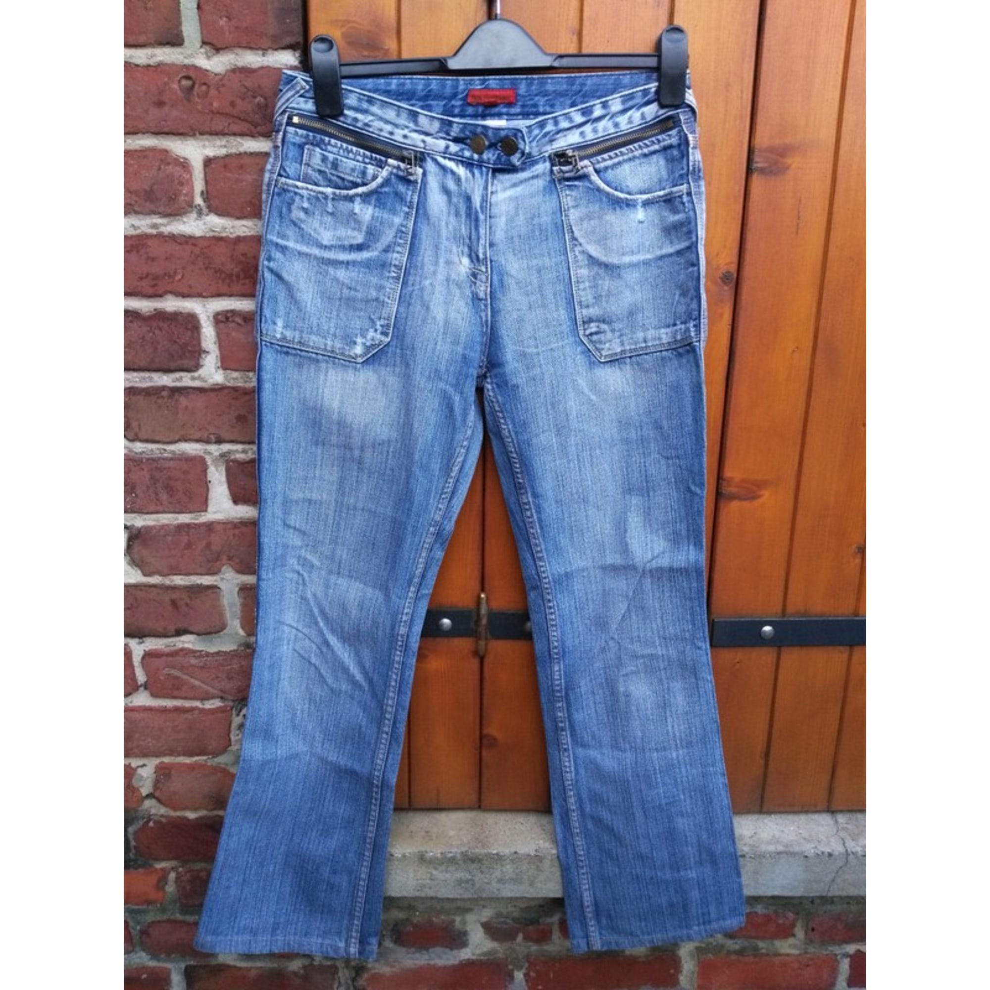 Jeans large, boyfriend BEST MOUNTAIN Bleu, bleu marine, bleu turquoise